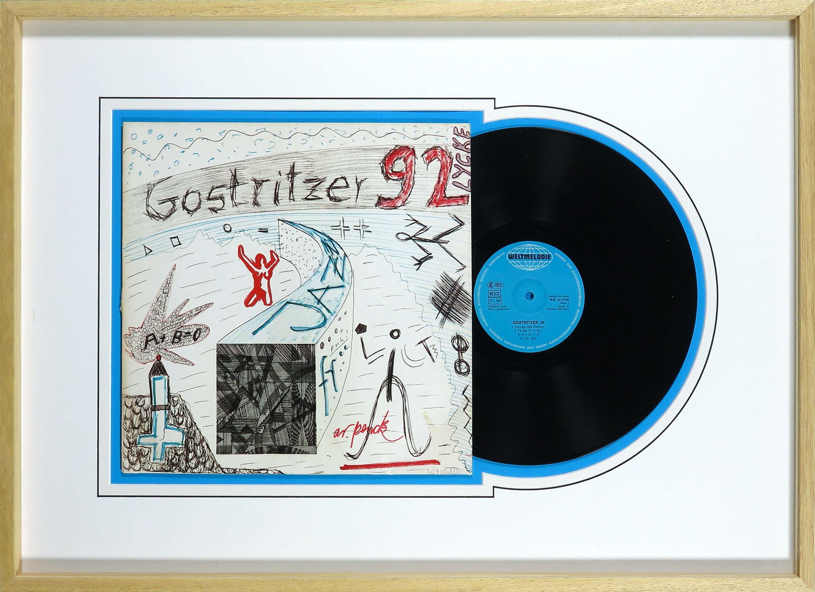 A.R. Penck - Gesigneerd album Gostritzer 92 - Ingelijst kopen? Bied vanaf 200!