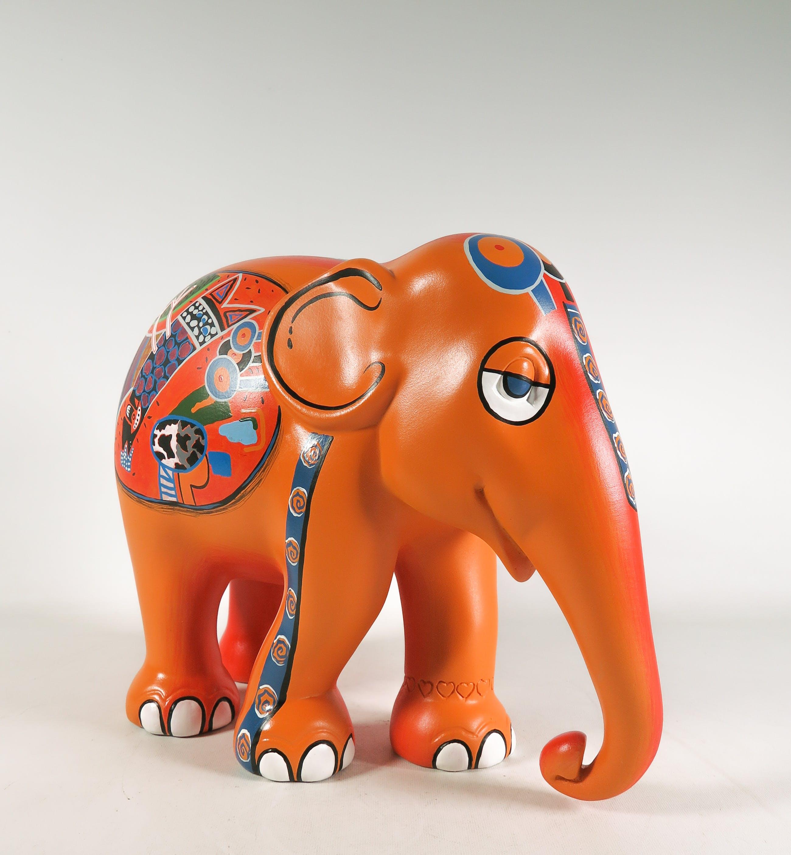 Corneille - Acryl op polyester, Elephant Parade kopen? Bied vanaf 550!