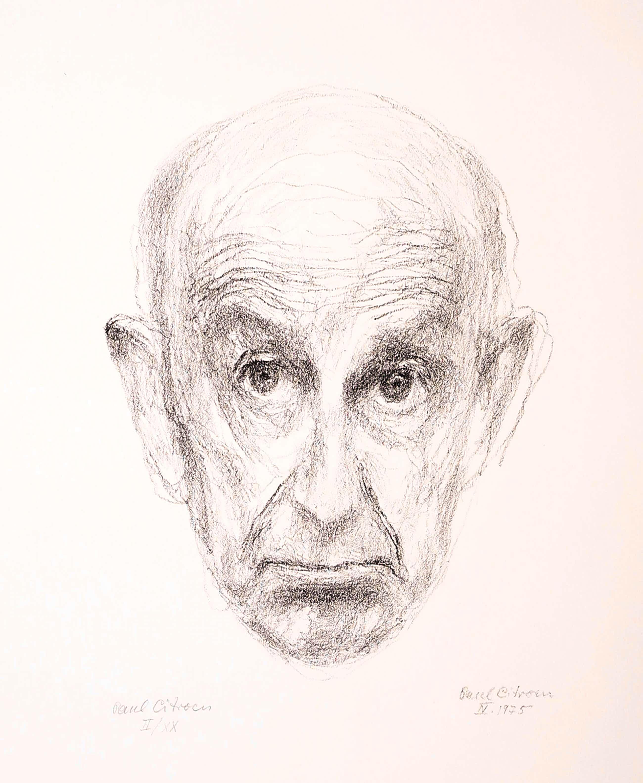 Paul Citroen - Litho, Zelfportret kopen? Bied vanaf 50!