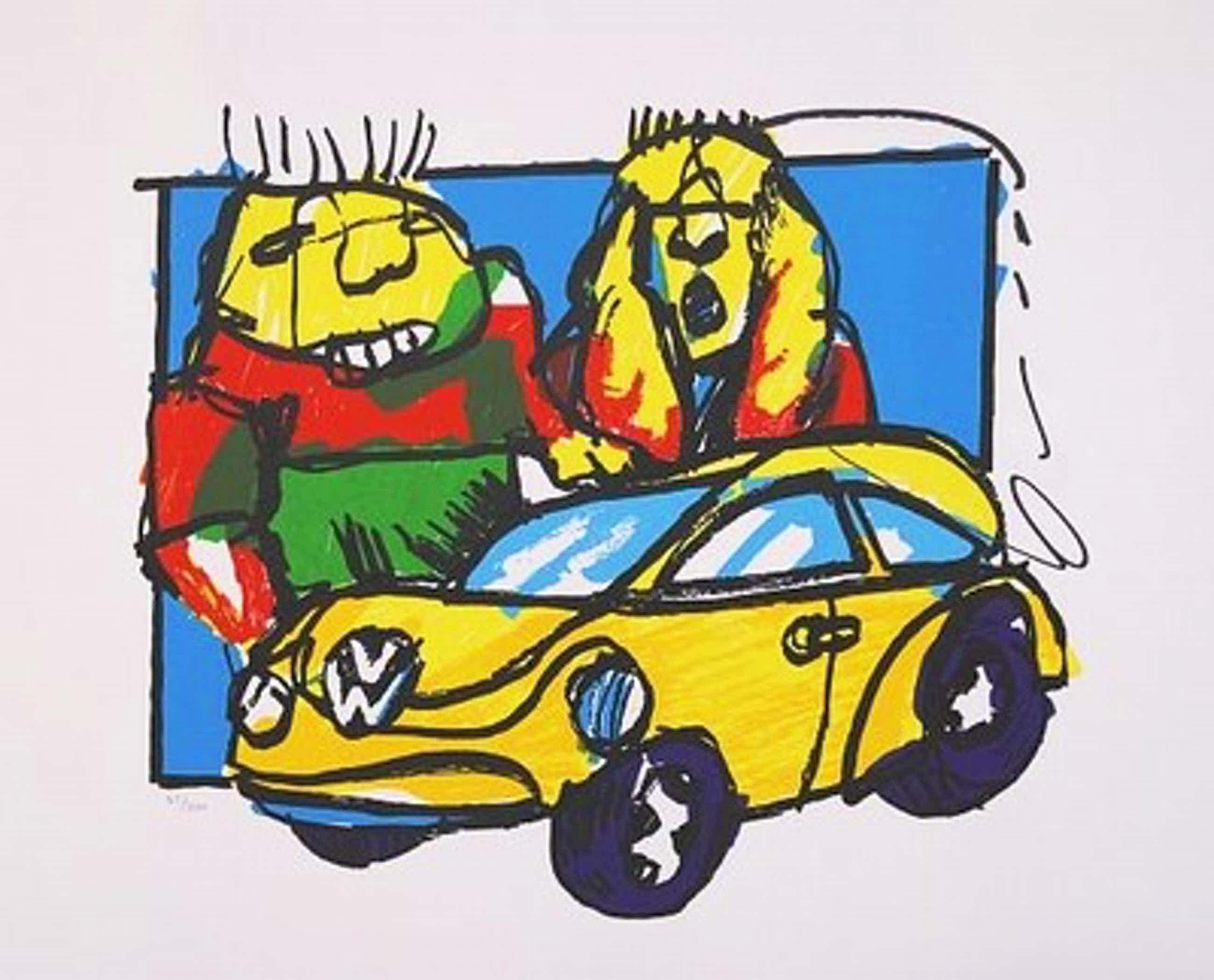 Herman Brood - Volkswagen Beetle kopen? Bied vanaf 280!