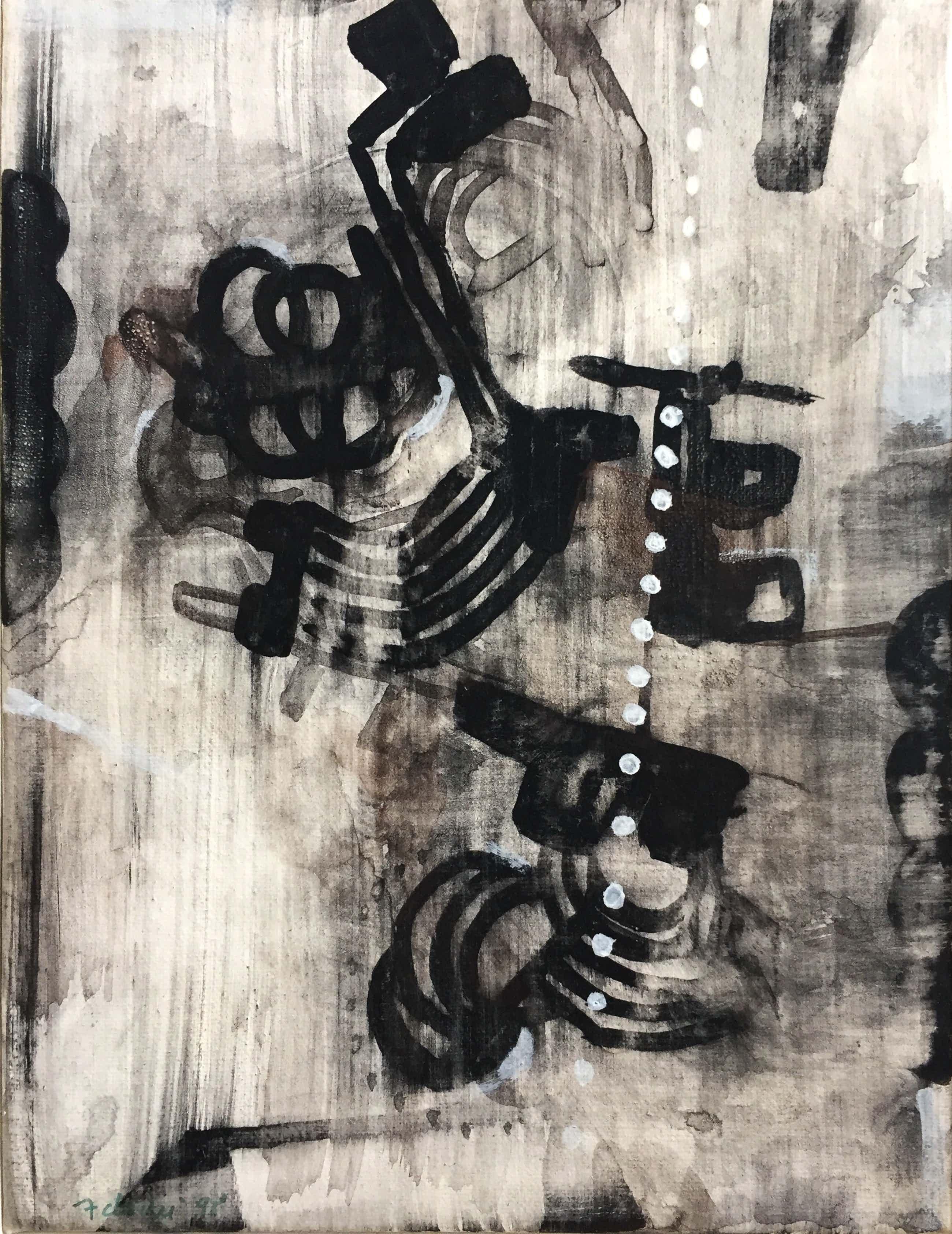 Heinz Adochi - Original Kasein-Gemälde auf Leinwand, signiert kopen? Bied vanaf 130!