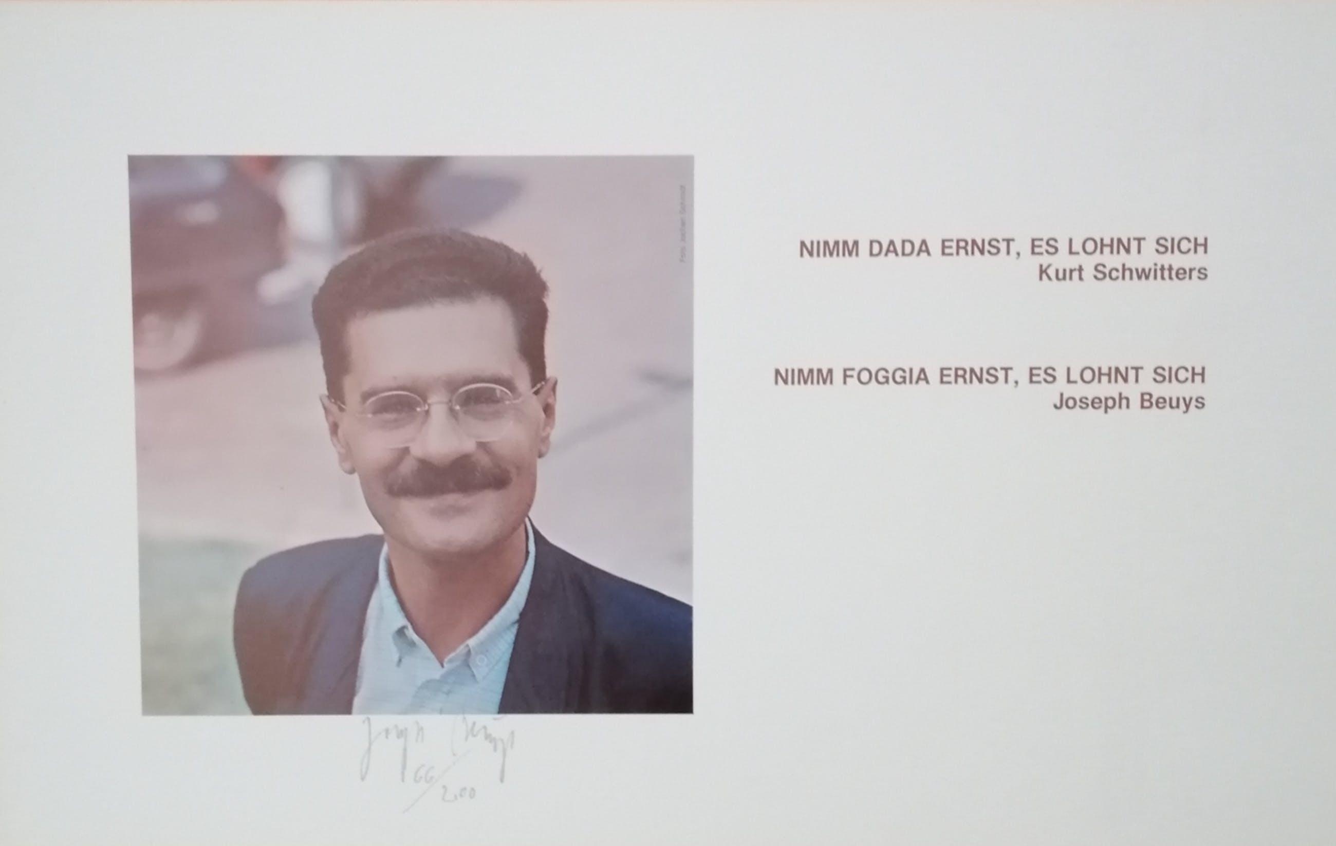 Joseph Beuys - Nimm Foggia ernst, es lohnt sich kopen? Bied vanaf 400!