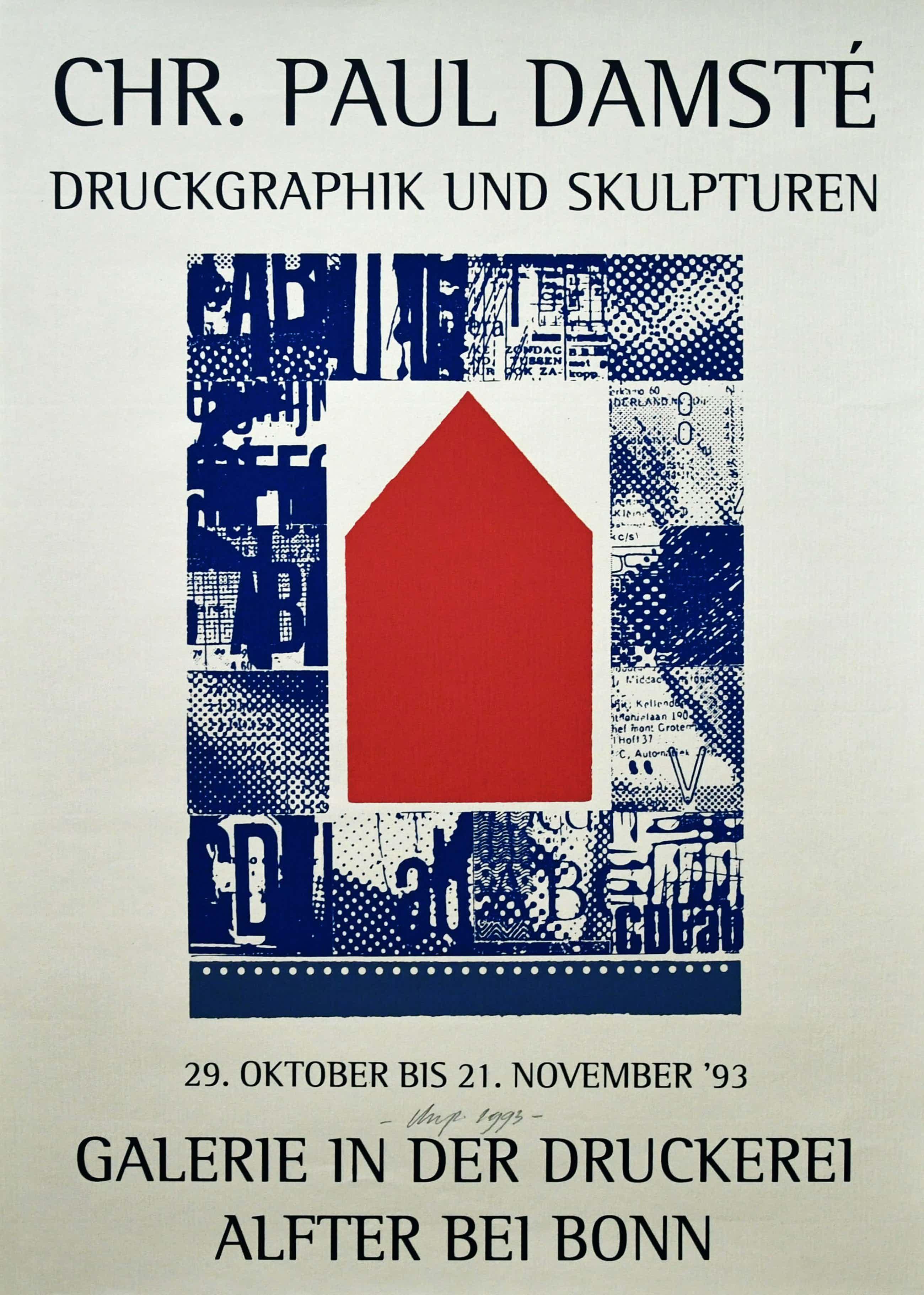 Christiaan Paul Damste - # ZEEFDRUK / GALERIE IN DER DRUCKEREI # 1993, mint kopen? Bied vanaf 75!