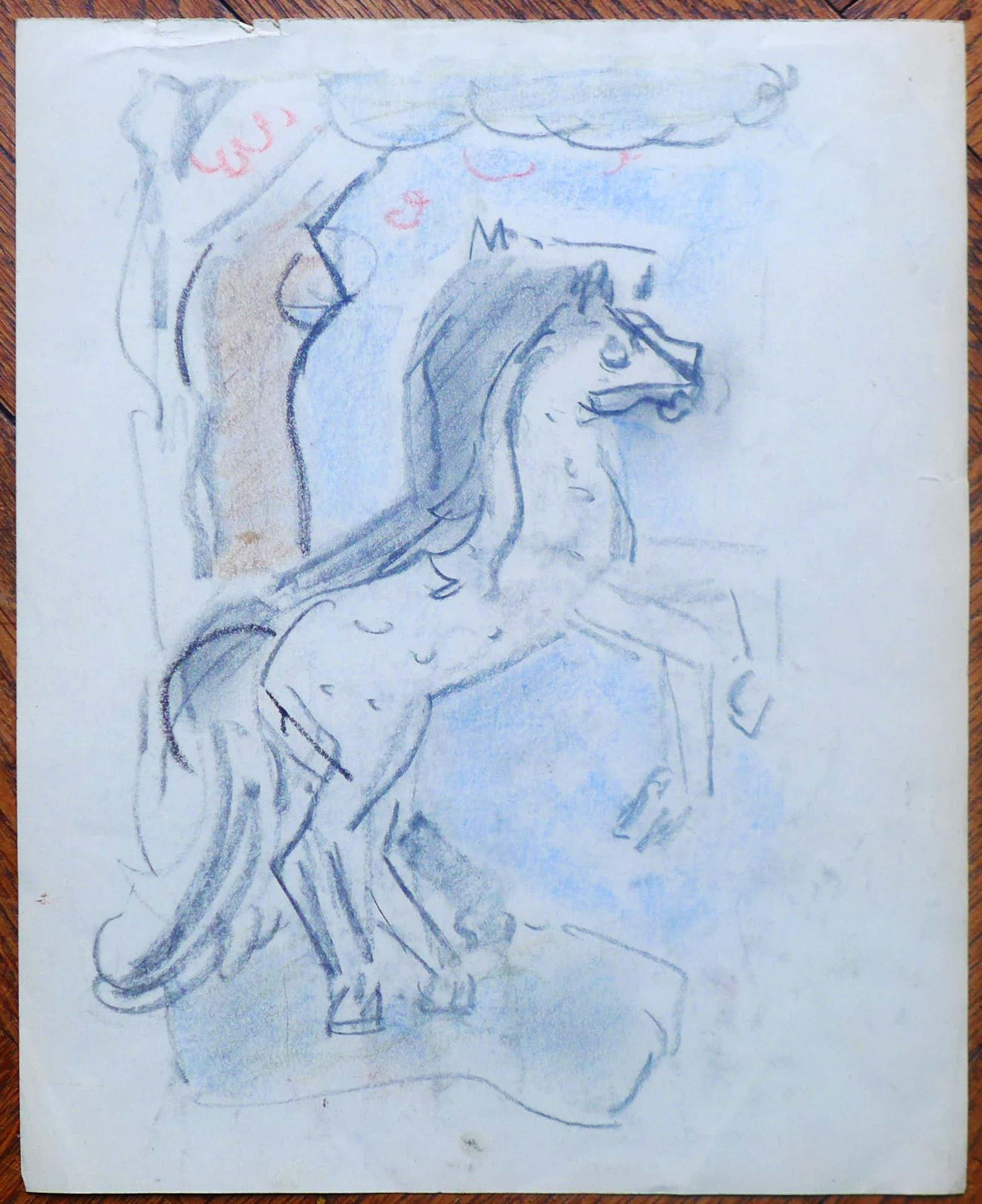 Otto van Rees - Op de achterkant van te tekening staat ook een tekening kopen? Bied vanaf 60!