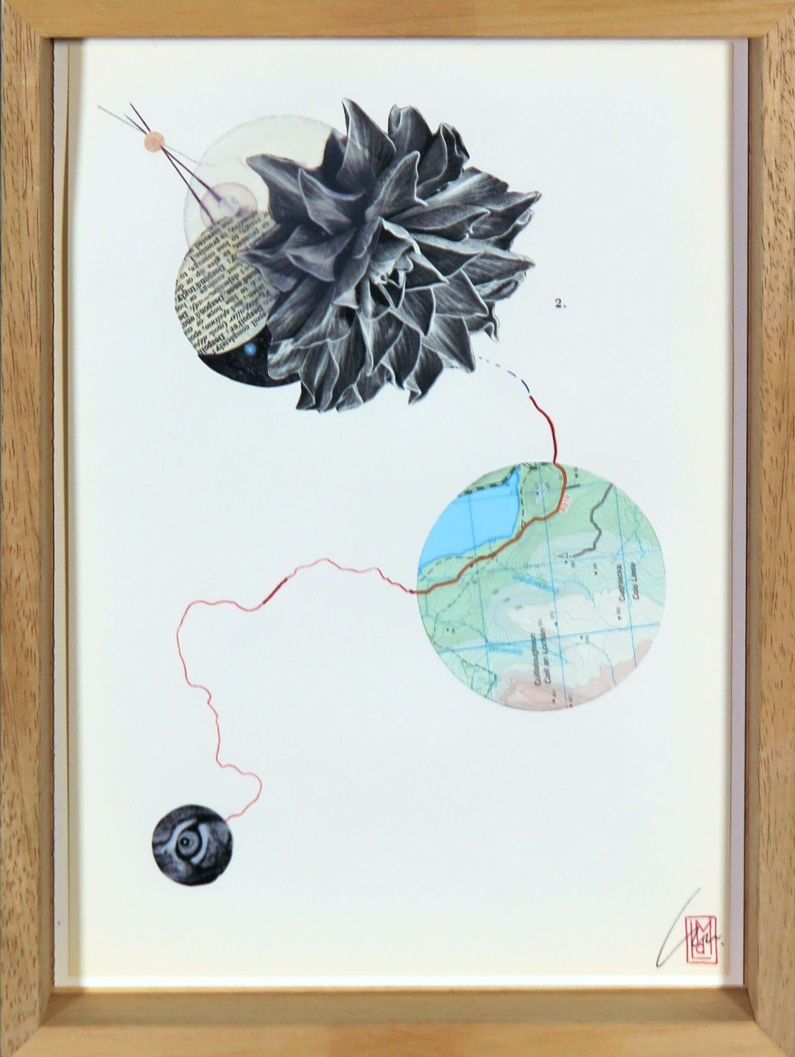 Lin de Mol - Collage op papier, Book of termination kopen? Bied vanaf 60!