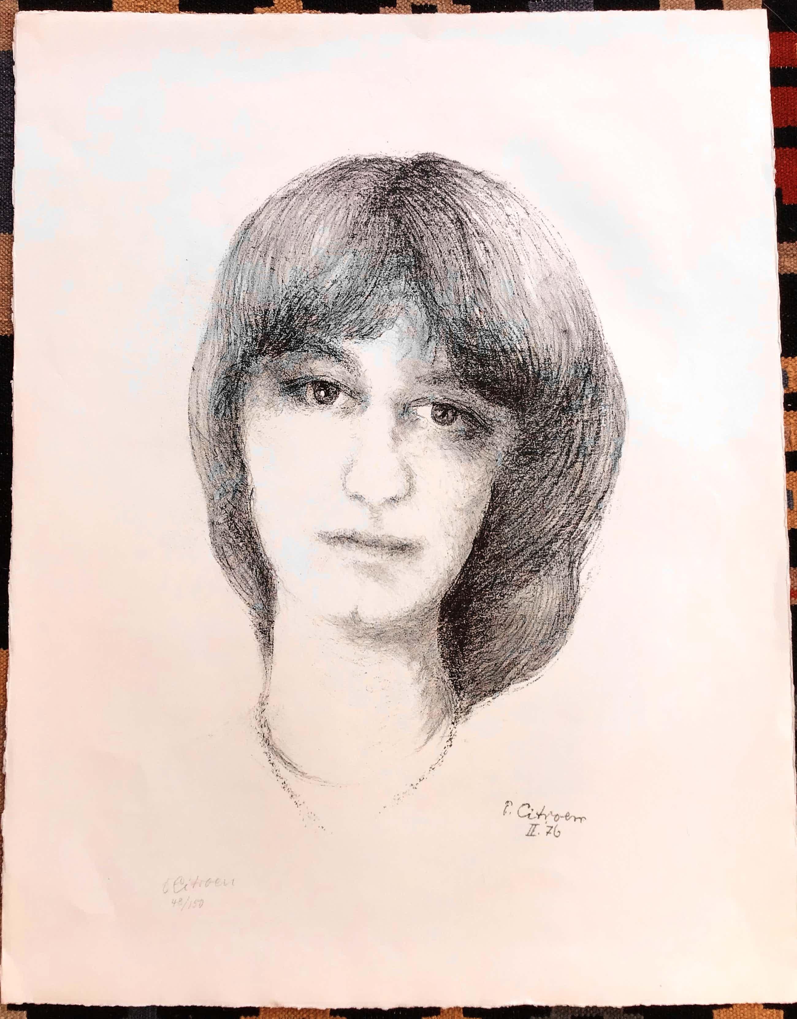 Paul Citroen - Portret van een vrouw, gesigneerde litho, 48/150 kopen? Bied vanaf 50!