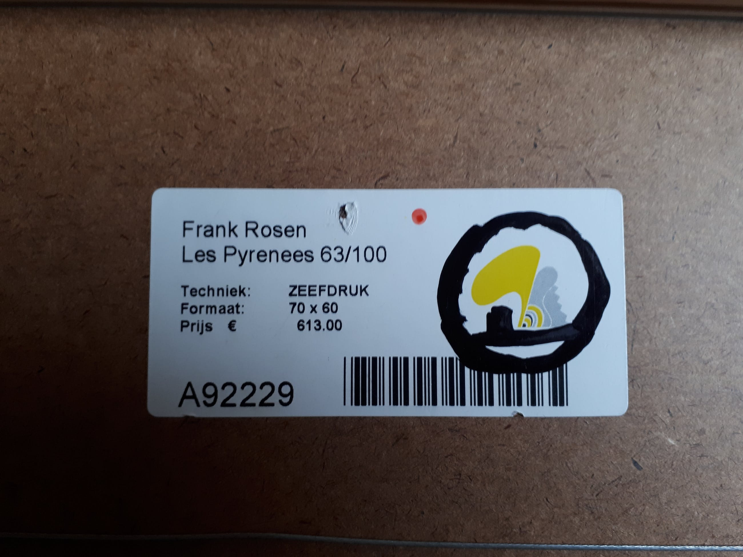 """Frank Rosen - La douce Franse """"Les Pyrénées """". kopen? Bied vanaf 50!"""