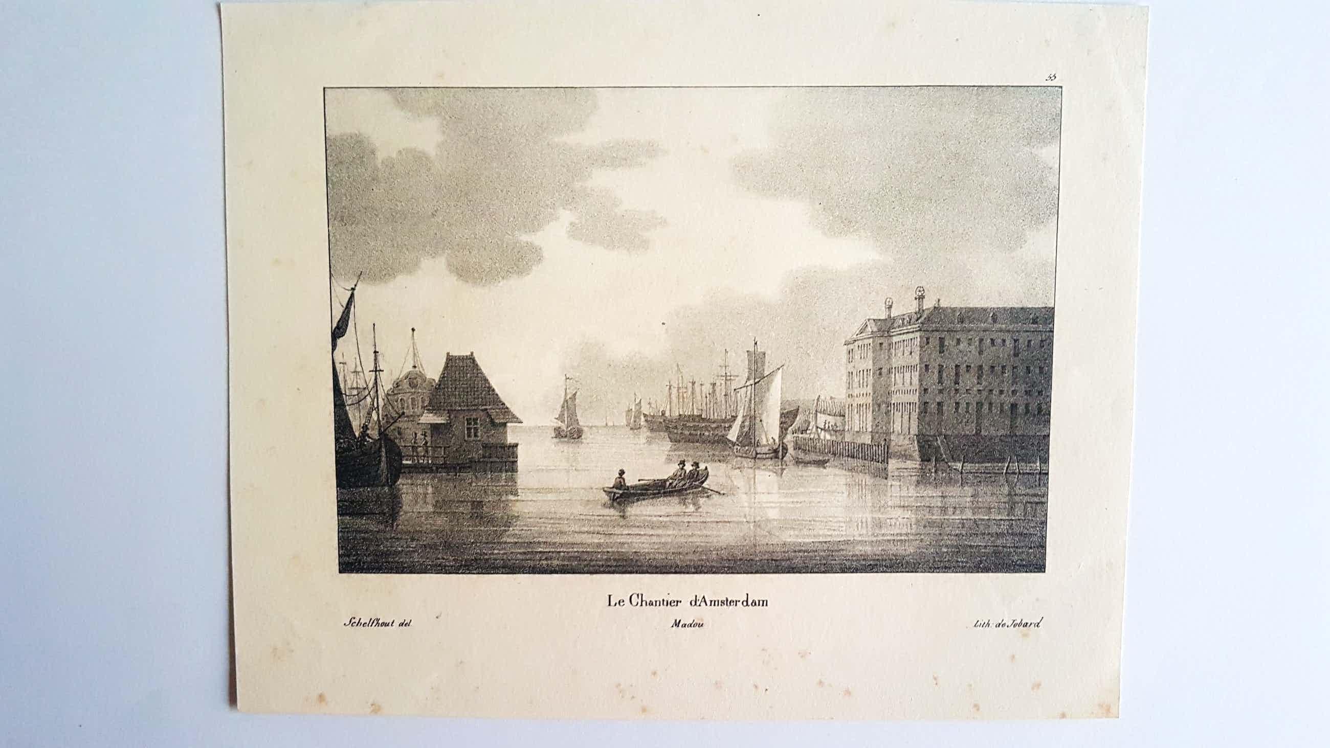 Jean Baptiste Ambroise Marcellin Jobard - Le chantier d'Amsterdam kopen? Bied vanaf 20!