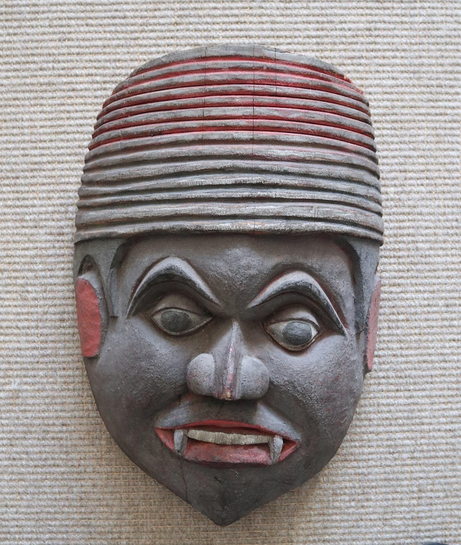 Niet of onleesbaar gesigneerd - Masker kopen? Bied vanaf 1!