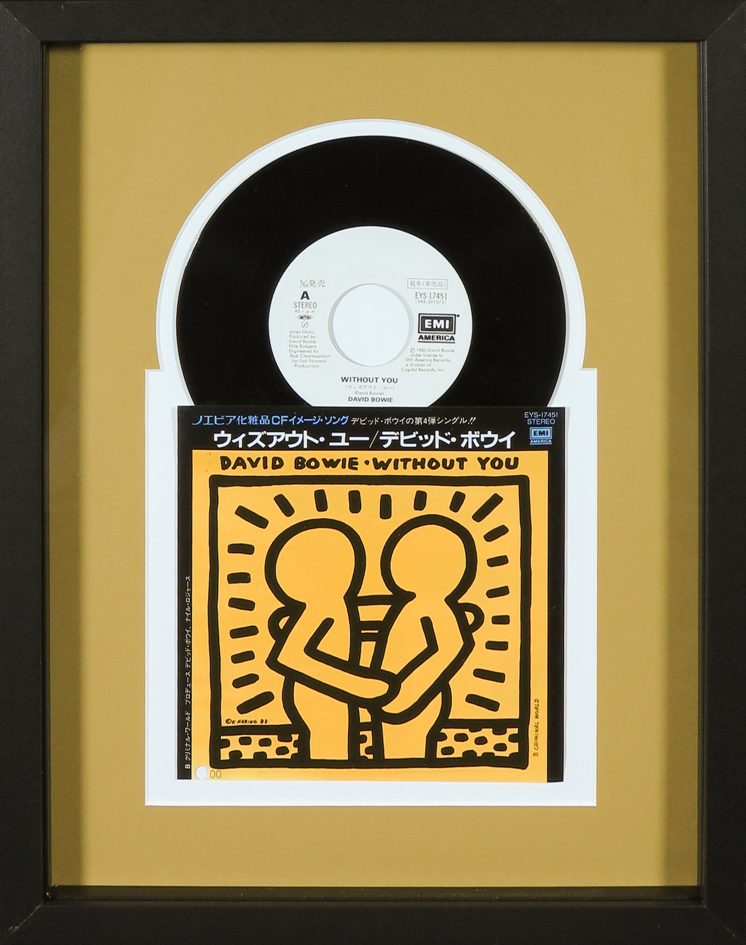 Keith Haring - Japanse uitgave David Bowie - Without You kopen? Bied vanaf 1!