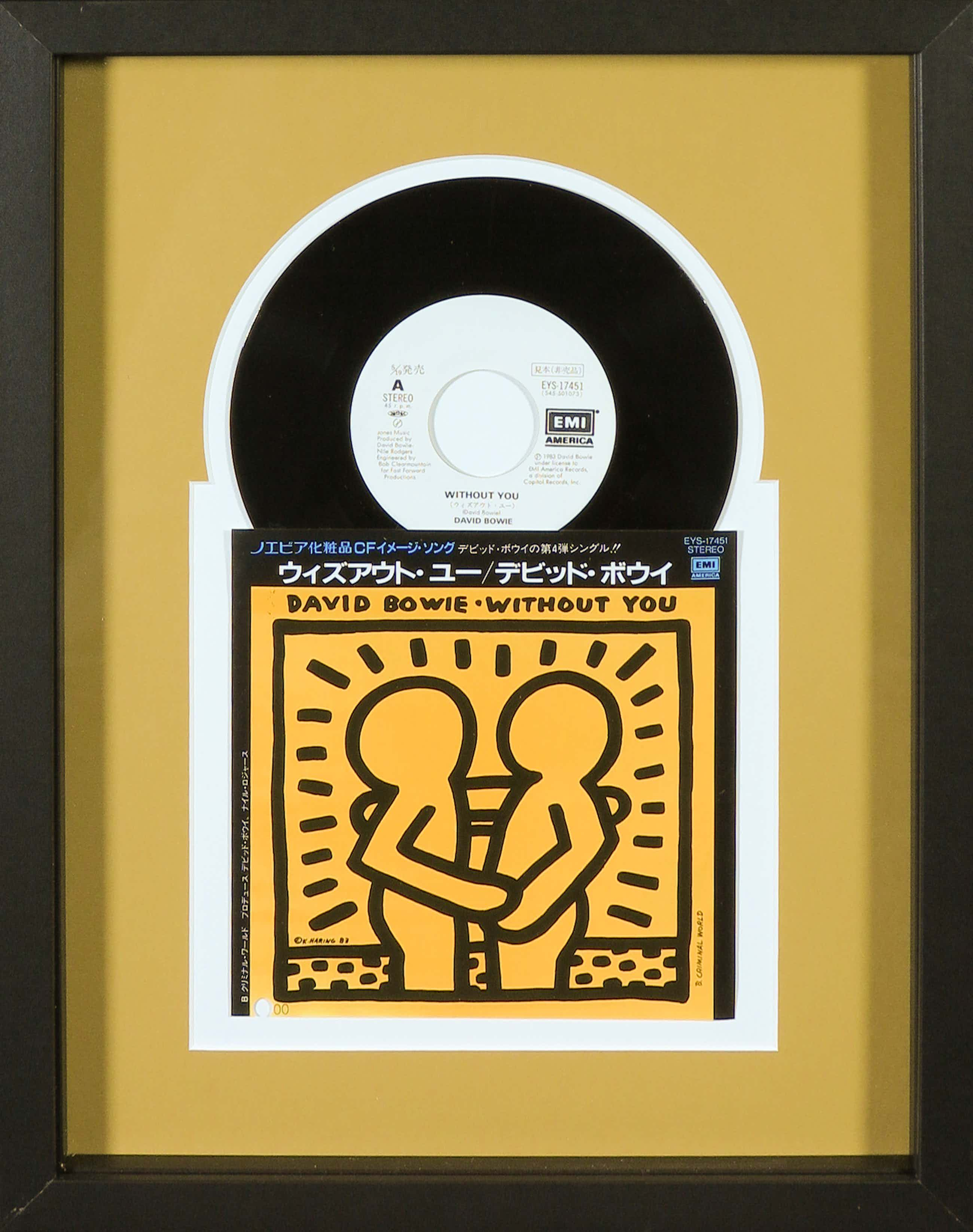 Keith Haring - Japanse uitgave David Bowie - Without You kopen? Bied vanaf 127!