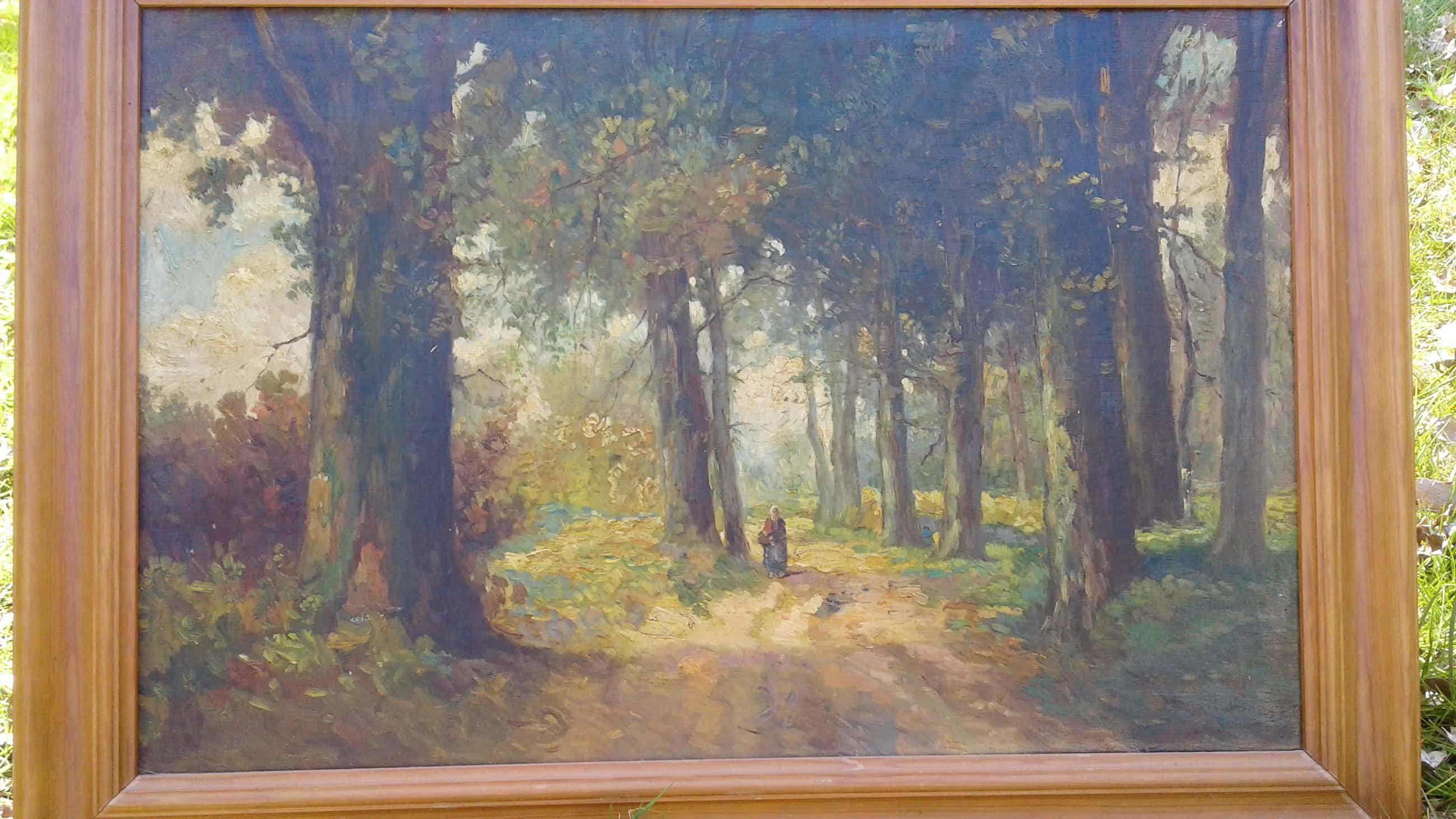 Suze Middendorp - Vrouw in het bos kopen? Bied vanaf 100!