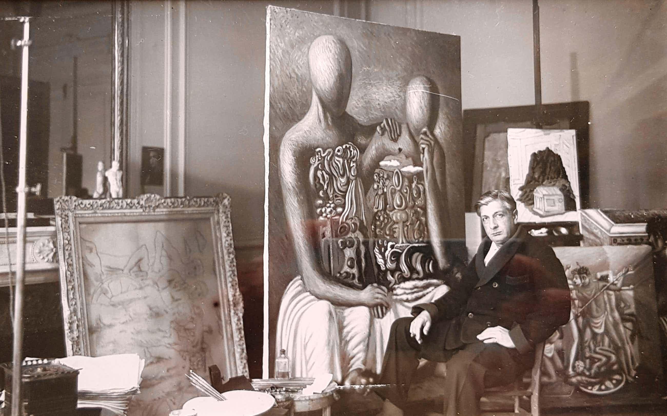 Boris Lipnitzki - Giorgio de Chirico im Atelier kopen? Bied vanaf 480!