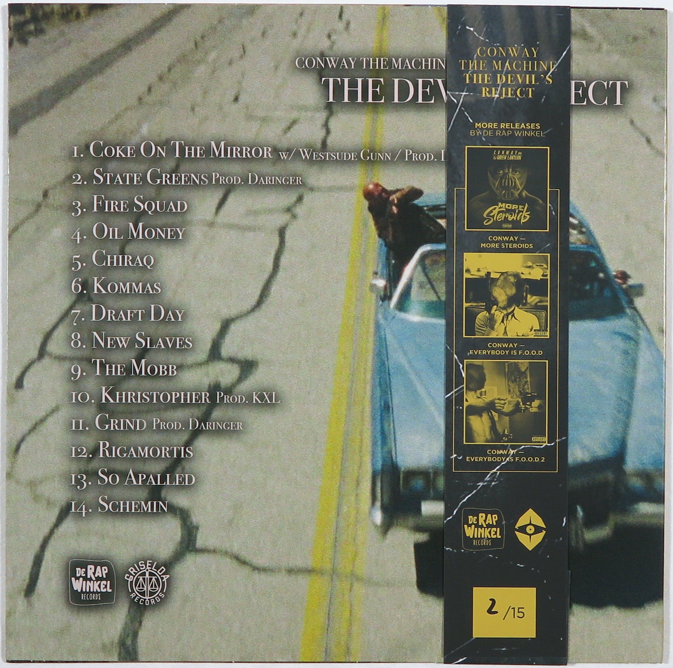 Conway - The Machine – The Devil's Reject kopen? Bied vanaf 60!