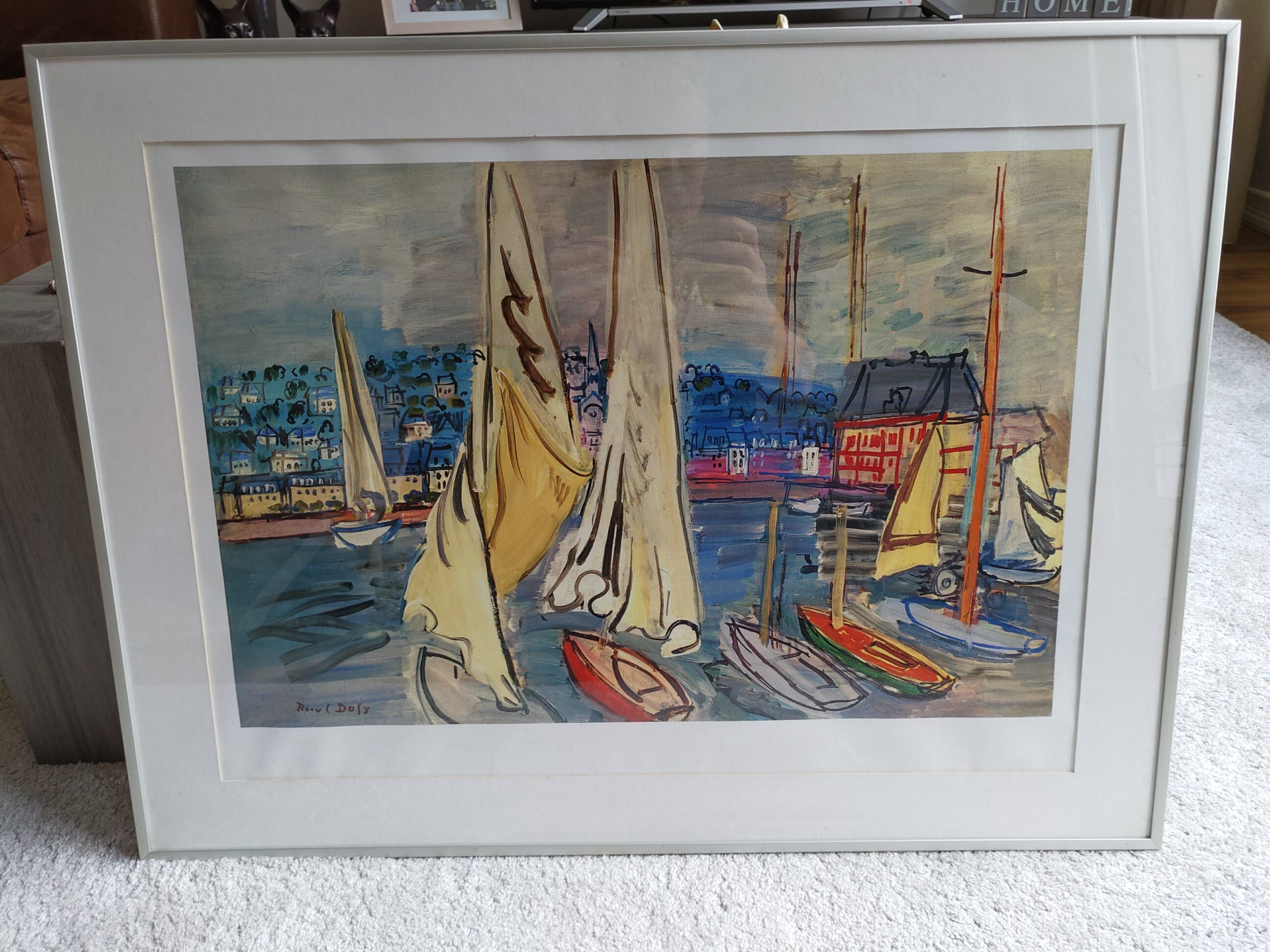 Raoul Dufy - Sailing-boats in Deauville kopen? Bied vanaf 50!