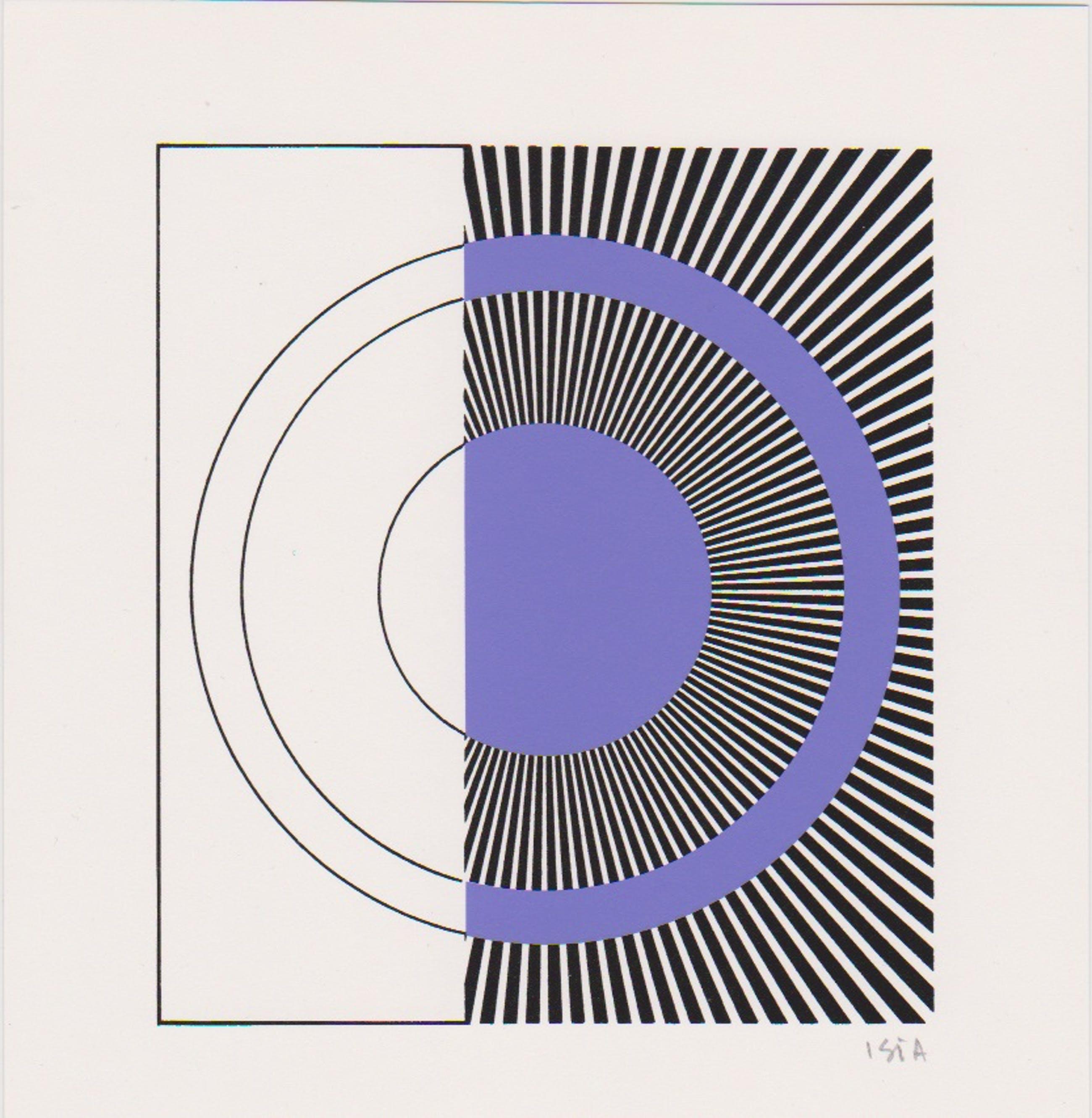 Willem F. Wagner - e.a: Drie handgesigneerde zeefdrukken: Geometrische Composities I, II, III kopen? Bied vanaf 19!
