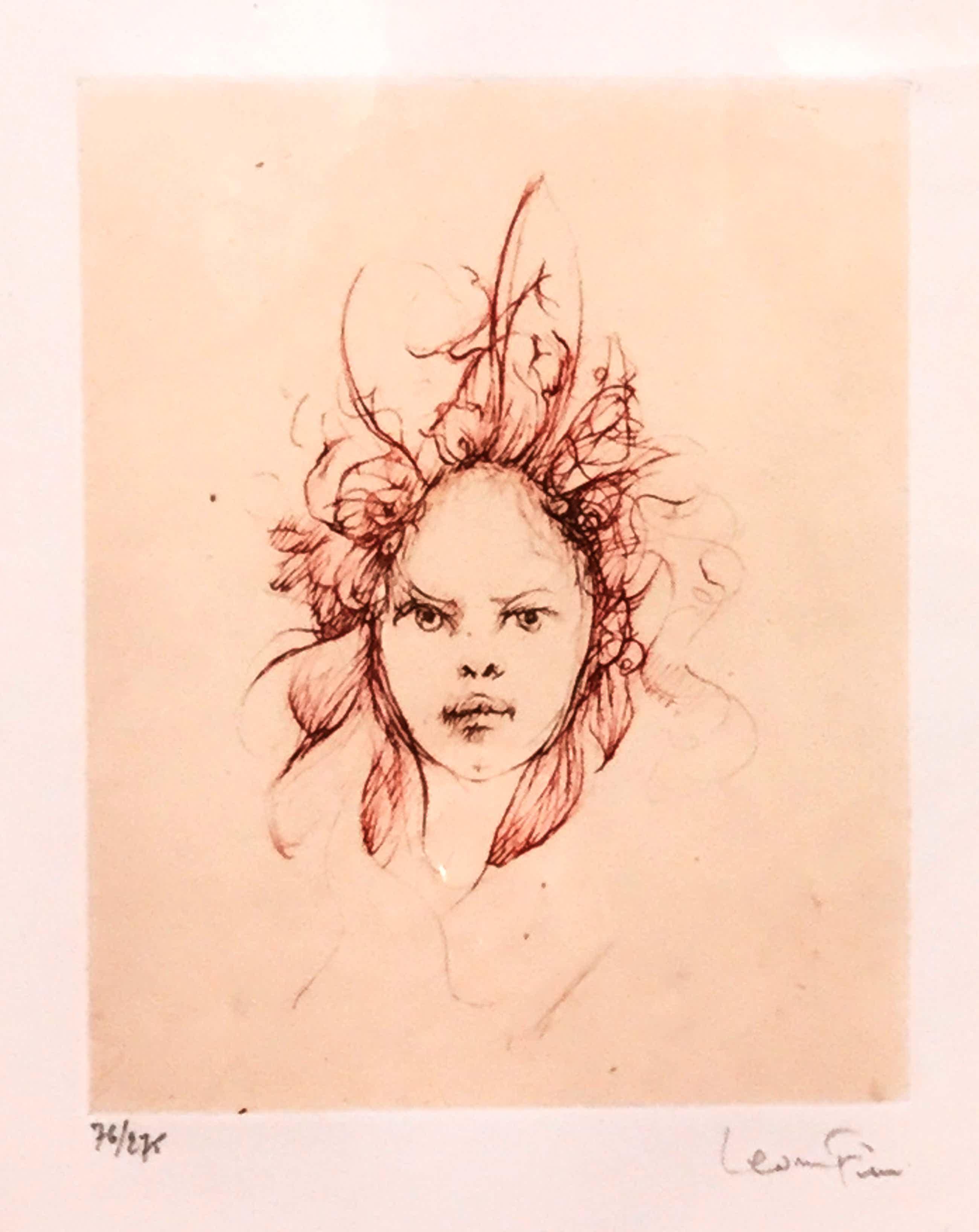Leonor Fini - C3461-4, Portret kopen? Bied vanaf 150!
