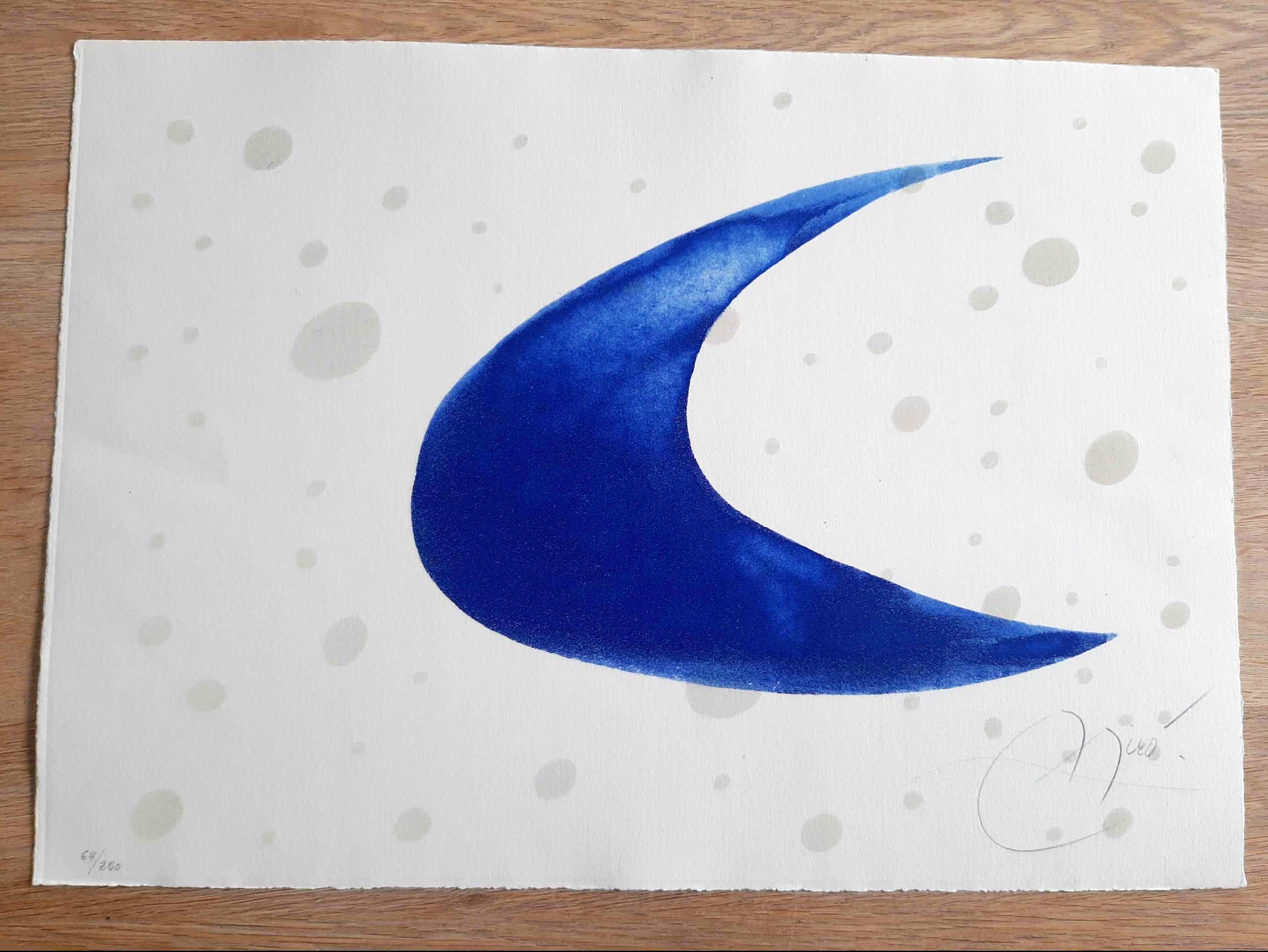 Joan Miro - Càntic del sol - zeldzame ets met aquatint - handgesigneerd - 1975 kopen? Bied vanaf 2500!