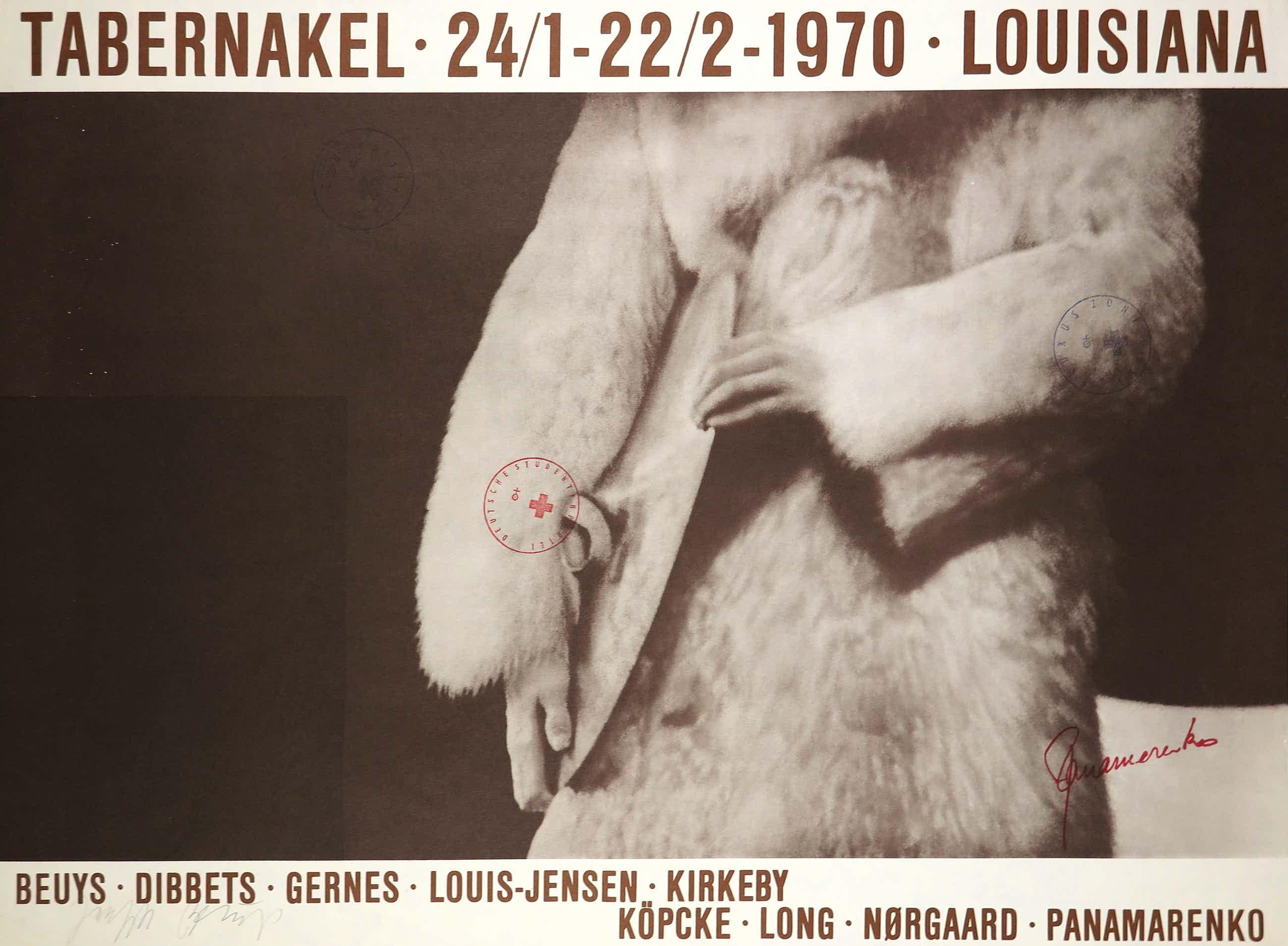 Panamarenko - en Joseph Beuys - Handgesigneerd affiche, Tabernakel kopen? Bied vanaf 140!