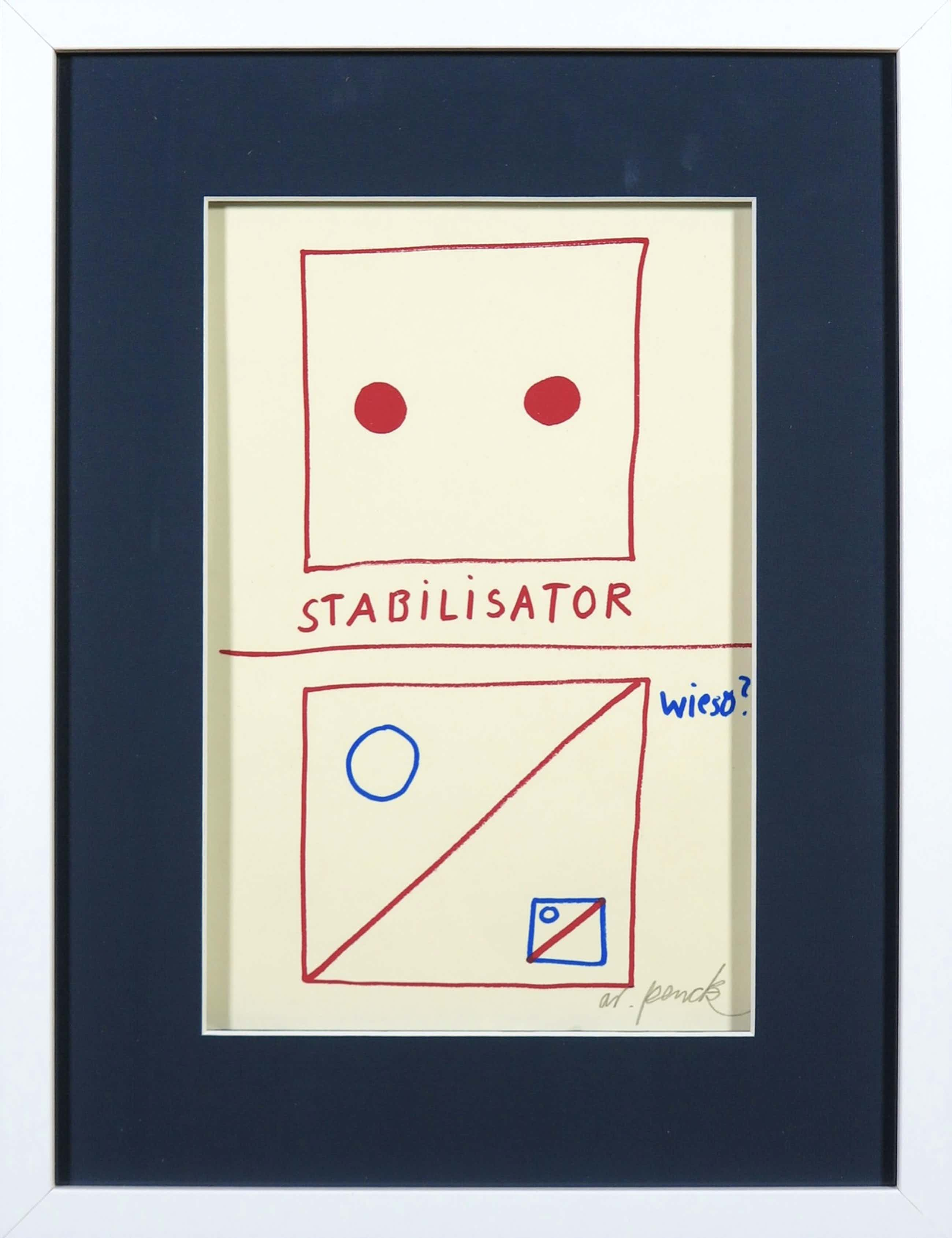 A.R. Penck - Stabilisator kopen? Bied vanaf 70!