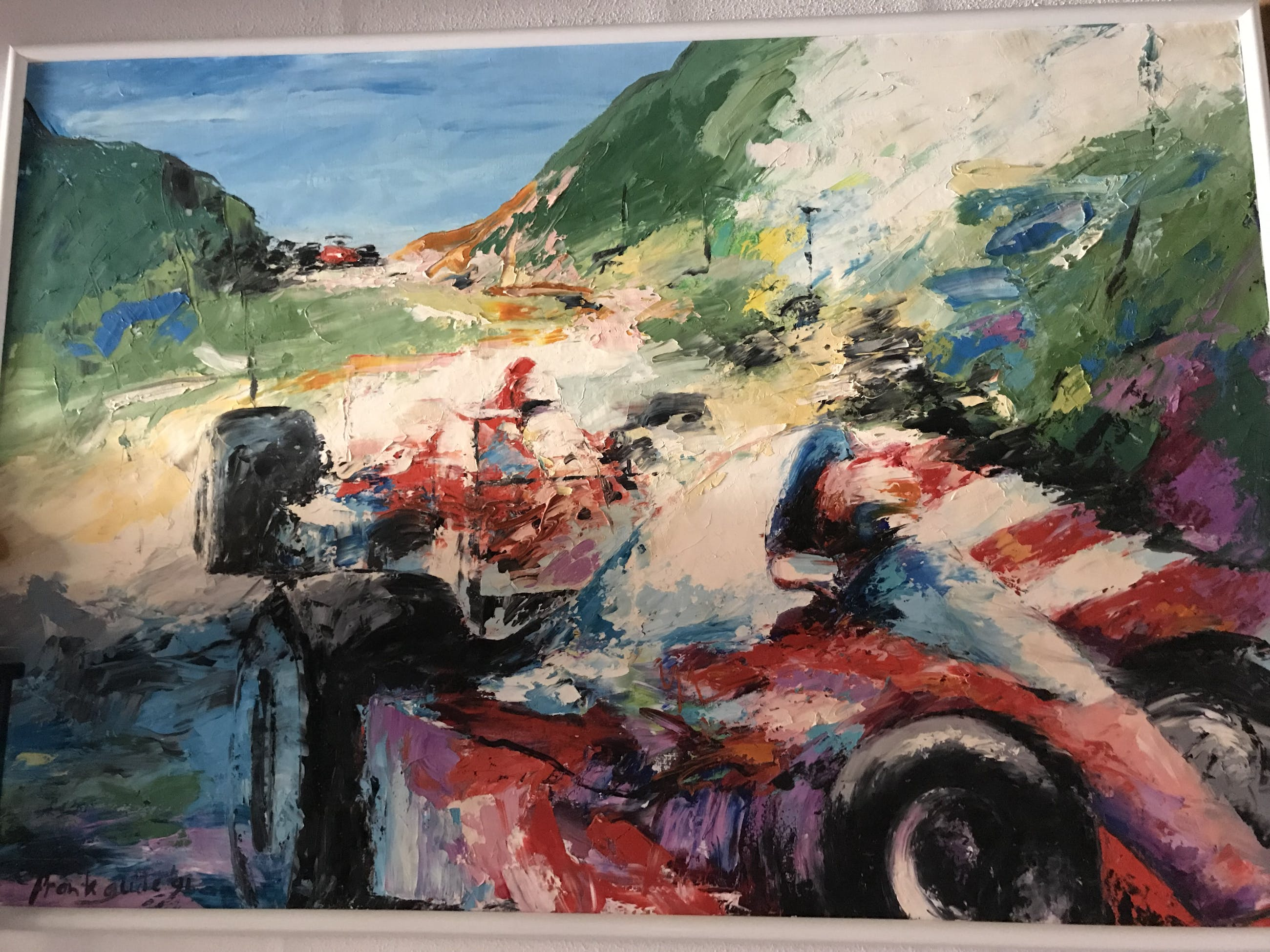 Frank Gude - Formule1 (zeer groot) kopen? Bied vanaf 350!