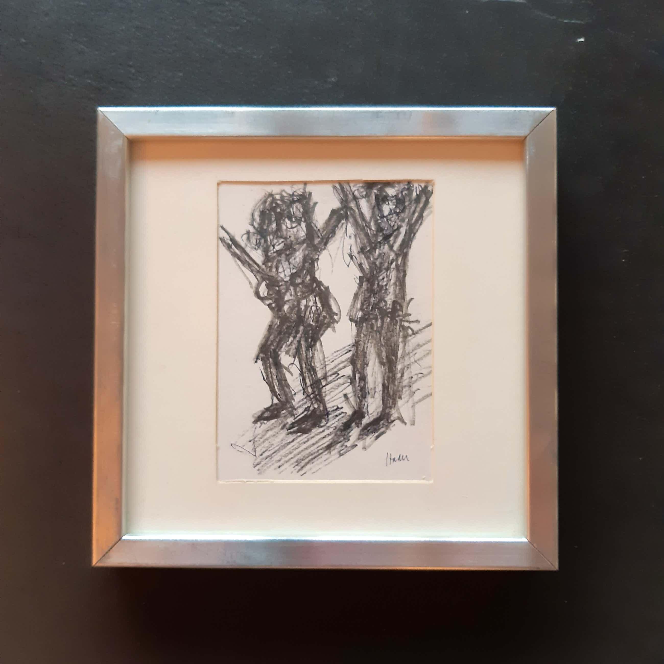 Pieter Haan - Twee figuren kopen? Bied vanaf 10!