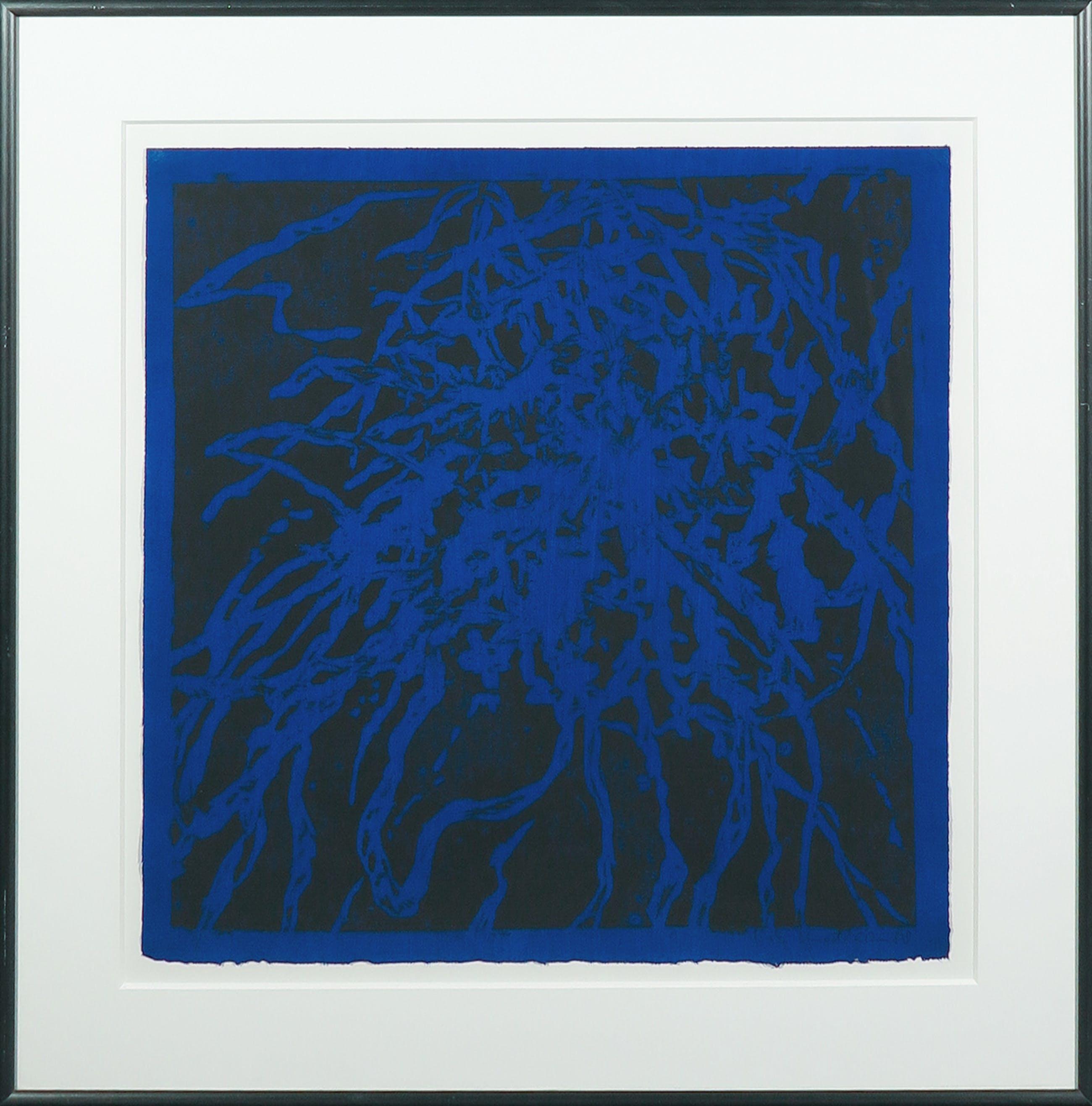Rob Lodder - Zeefdruk, Abstracte compositie - Ingelijst kopen? Bied vanaf 35!