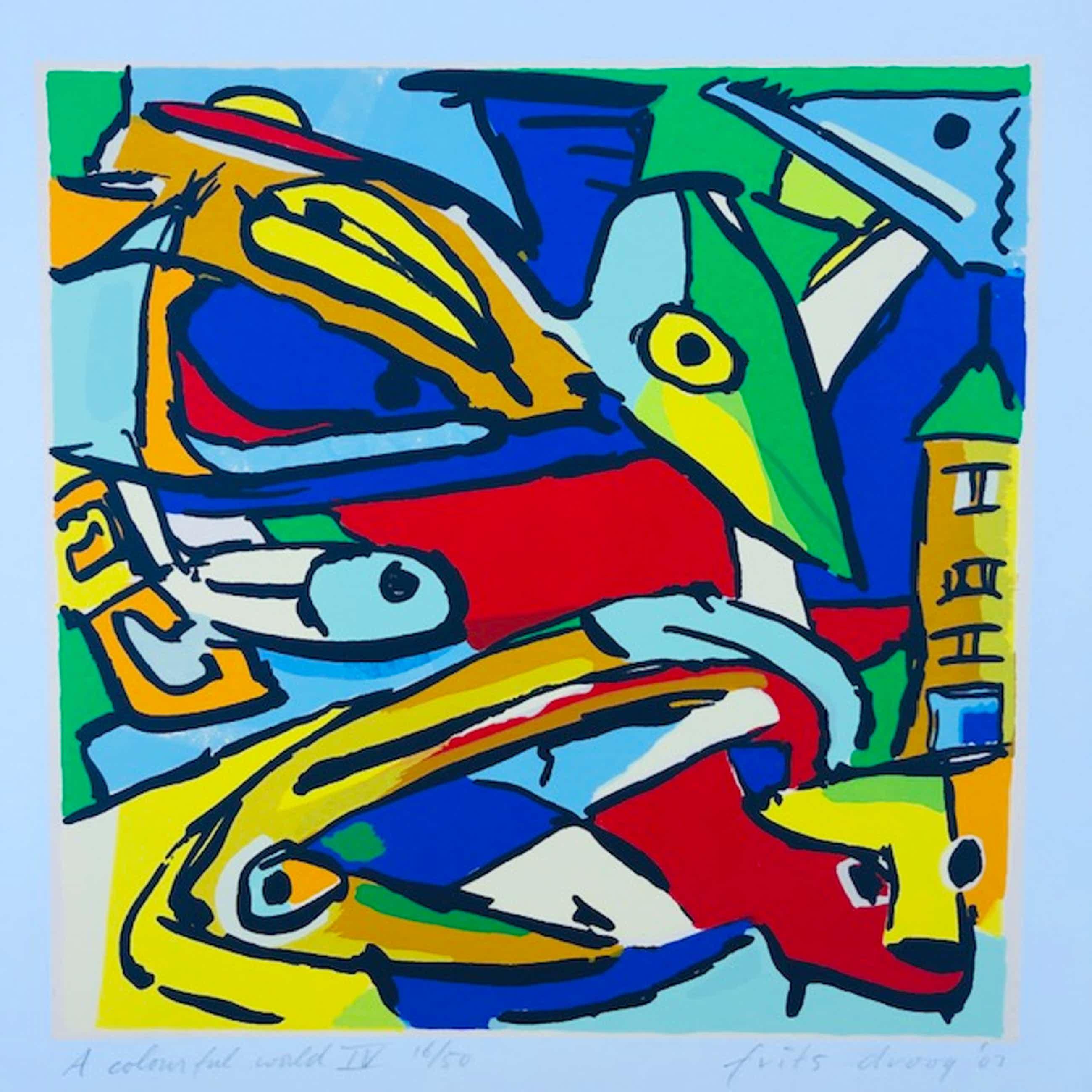 Frits Droog - A colorfull world IV kopen? Bied vanaf 65!