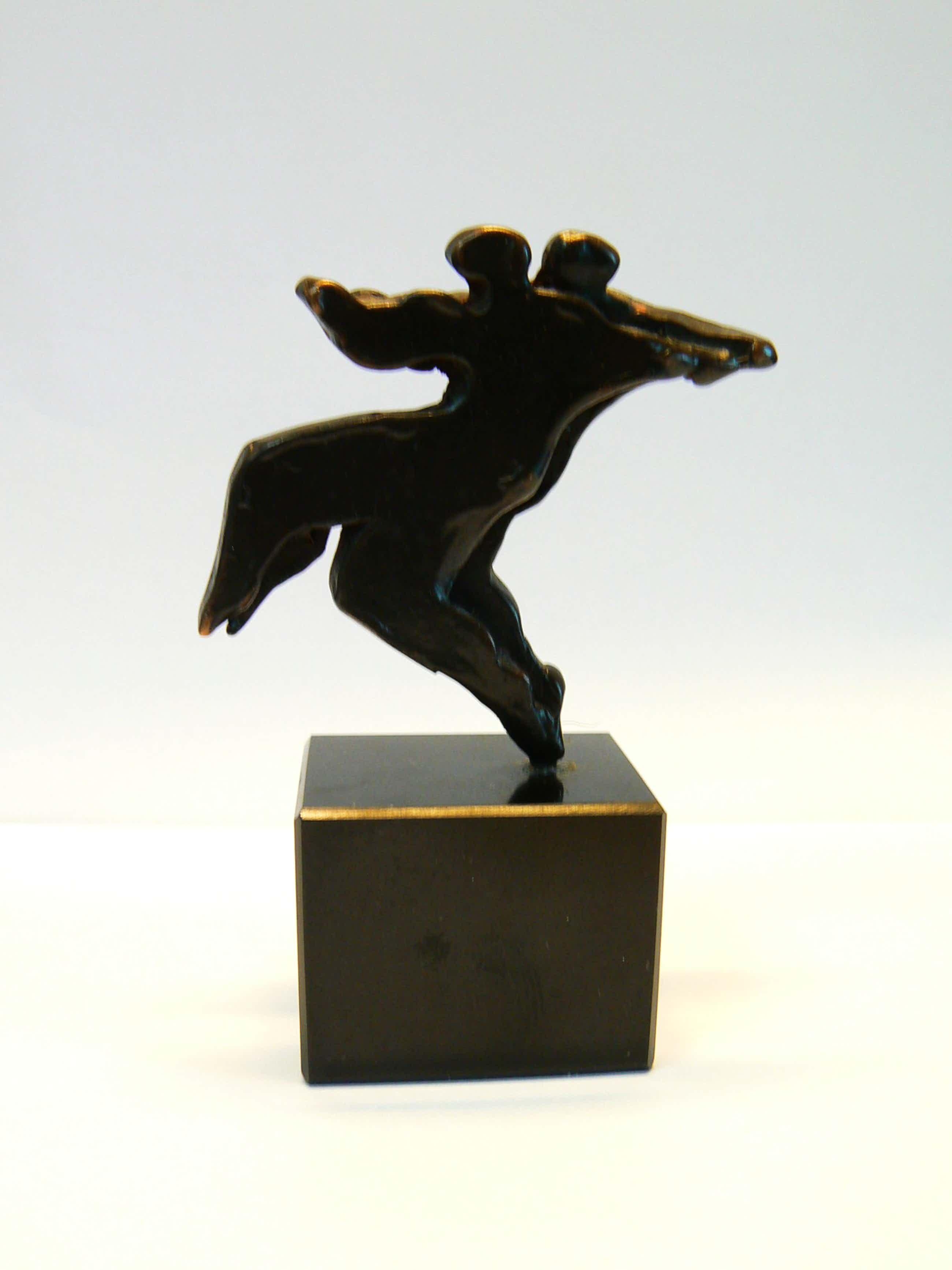 Eric Claus - brons op sokkel - Tango kopen? Bied vanaf 175!