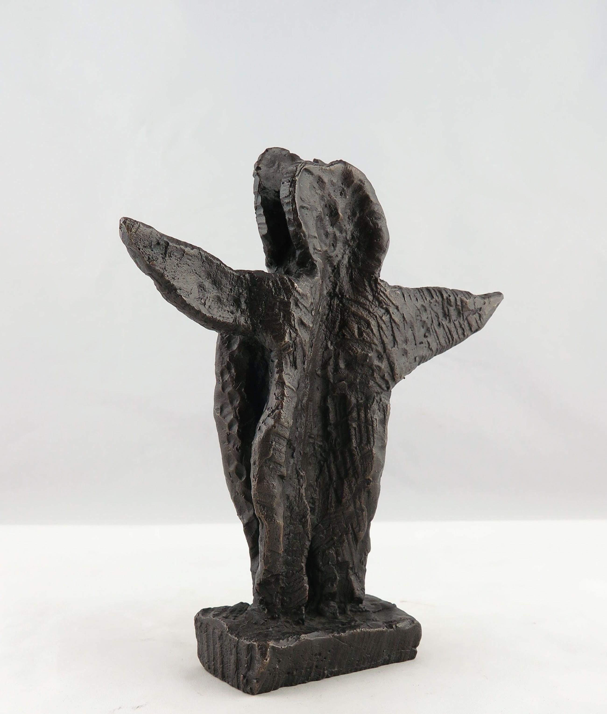 Carl-Henning Pedersen - Brons, The blue angel (+ certificaat, uitnodiging en tentoonstellingscatalogus) kopen? Bied vanaf 850!