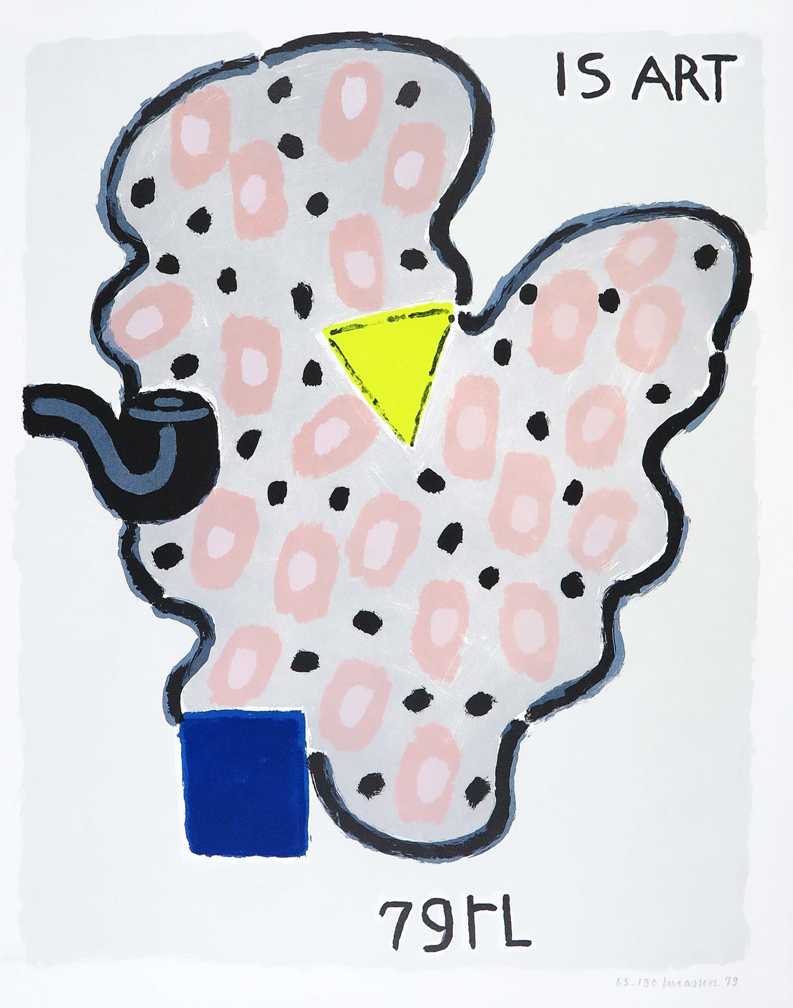 Reinier Lucassen - Litho, Is Art / Prent 190 kopen? Bied vanaf 65!