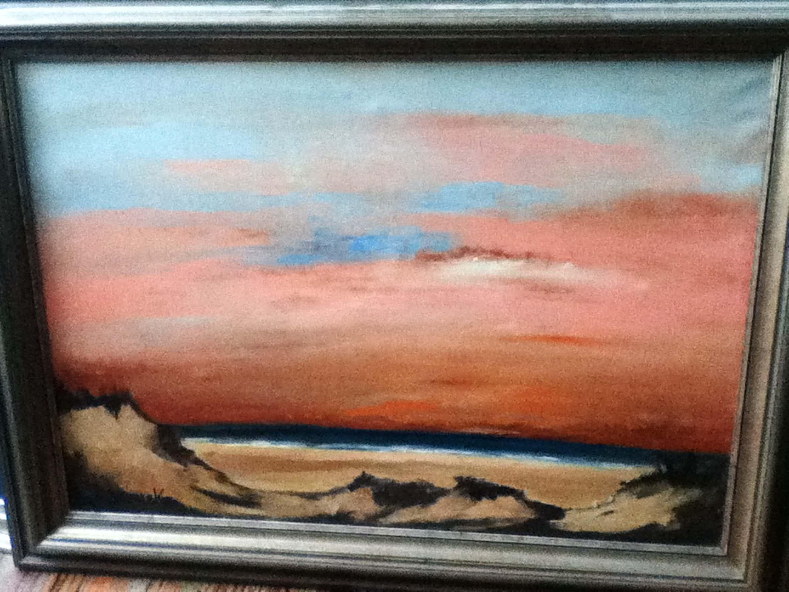 Paul Permeke - 'zonsondergang aan zee' kopen? Bied vanaf 895!