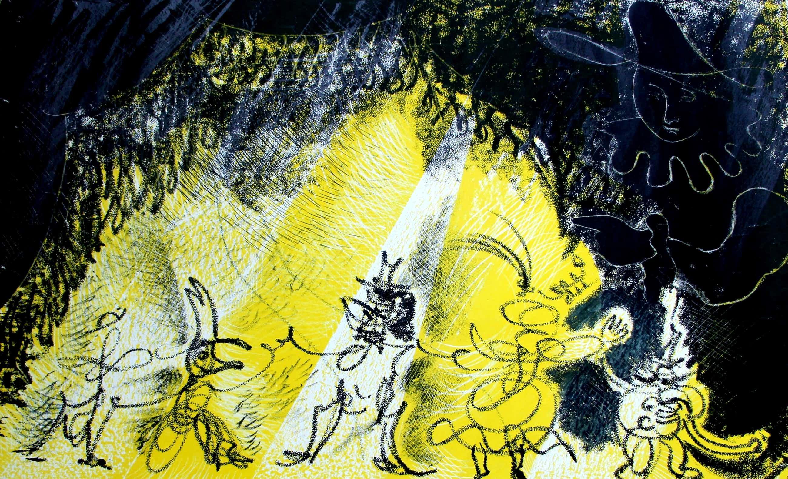 Paul Citroen - Litho: theater- 1947 kopen? Bied vanaf 45!