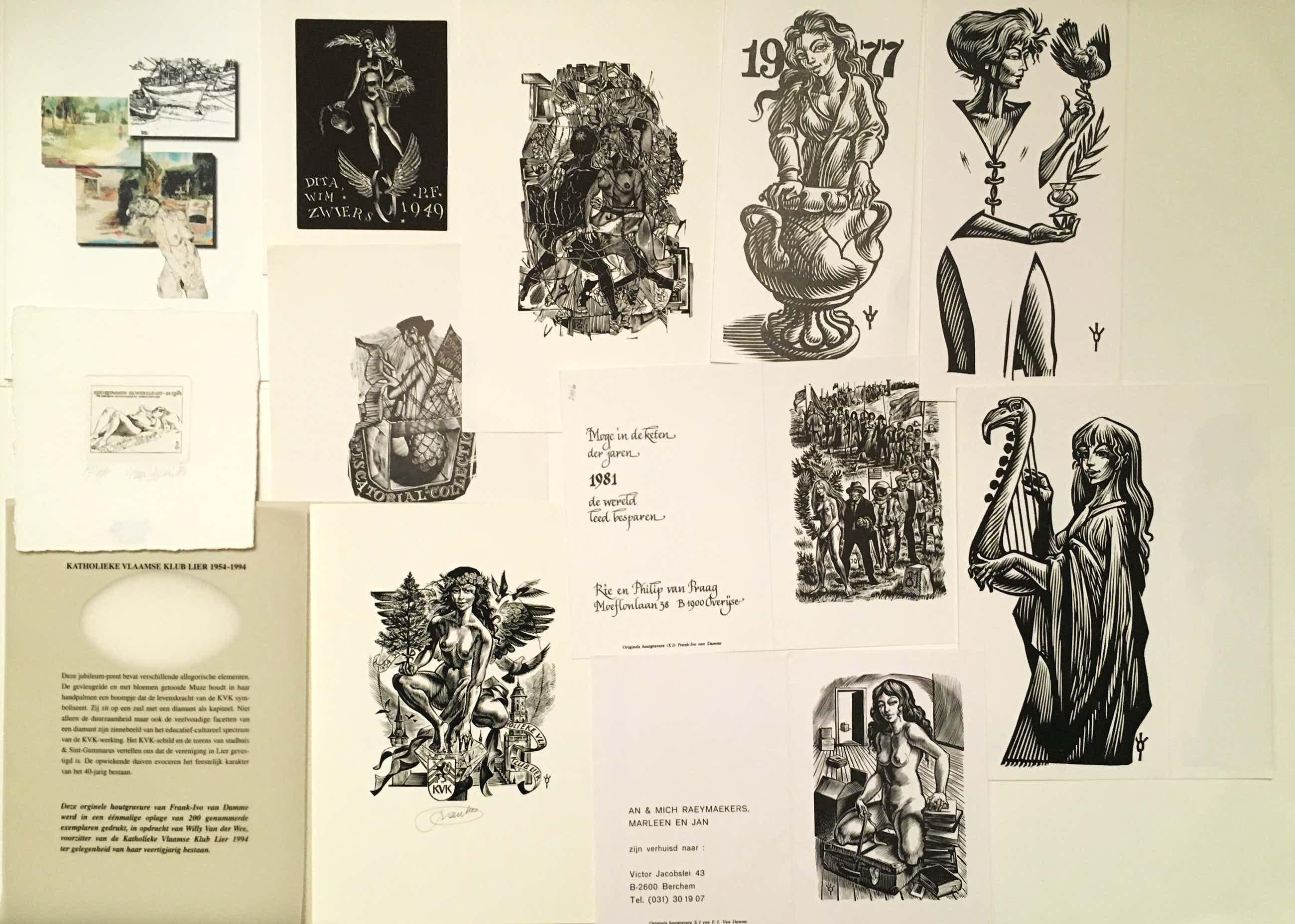 Wim Zwiers - Ivo van Damme, Livinus van der Bundt c.s., 46 gravures kopen? Bied vanaf 70!
