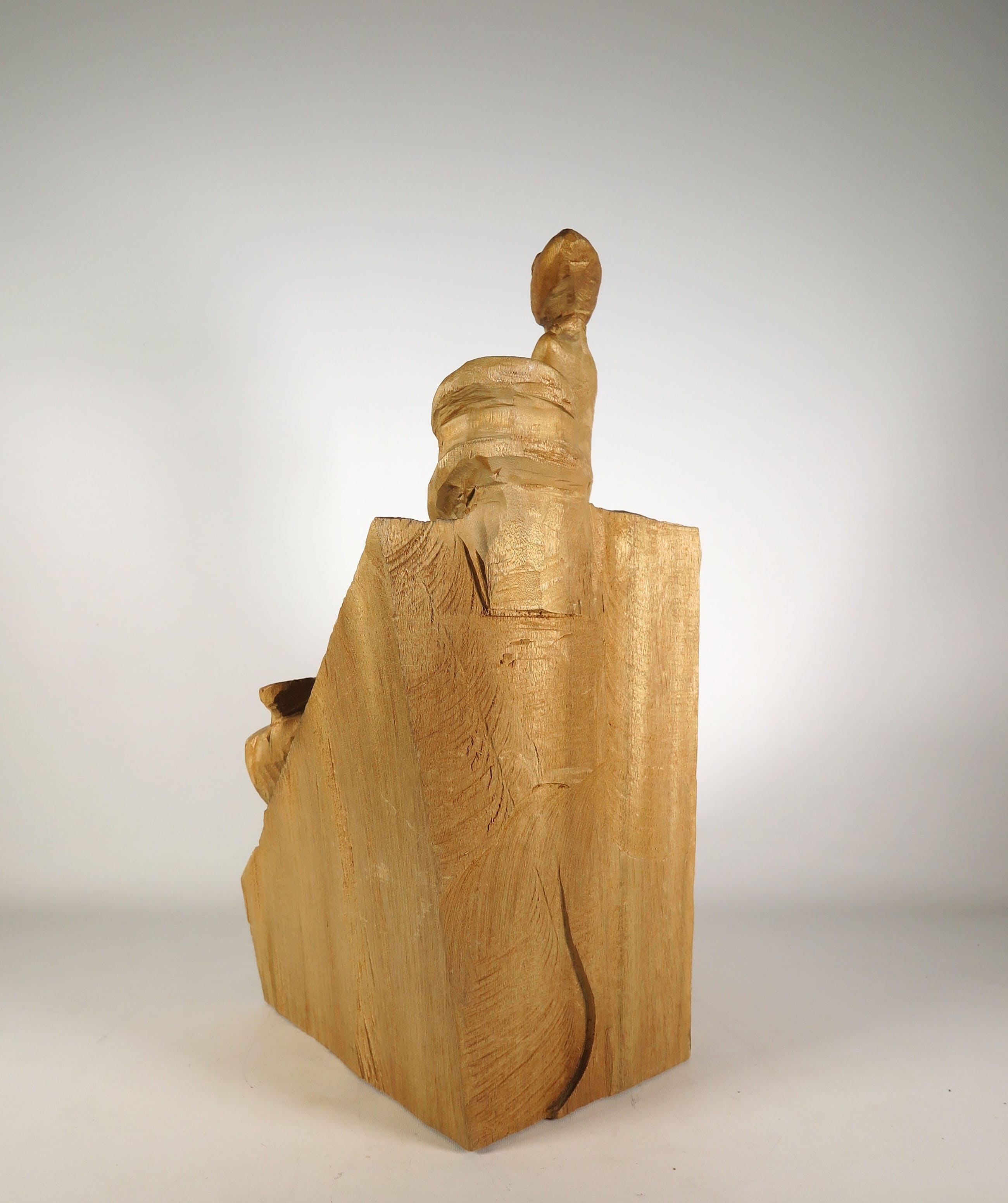 Emile van der Kruk - Hout, Kunstuitleen in Egypte kopen? Bied vanaf 250!