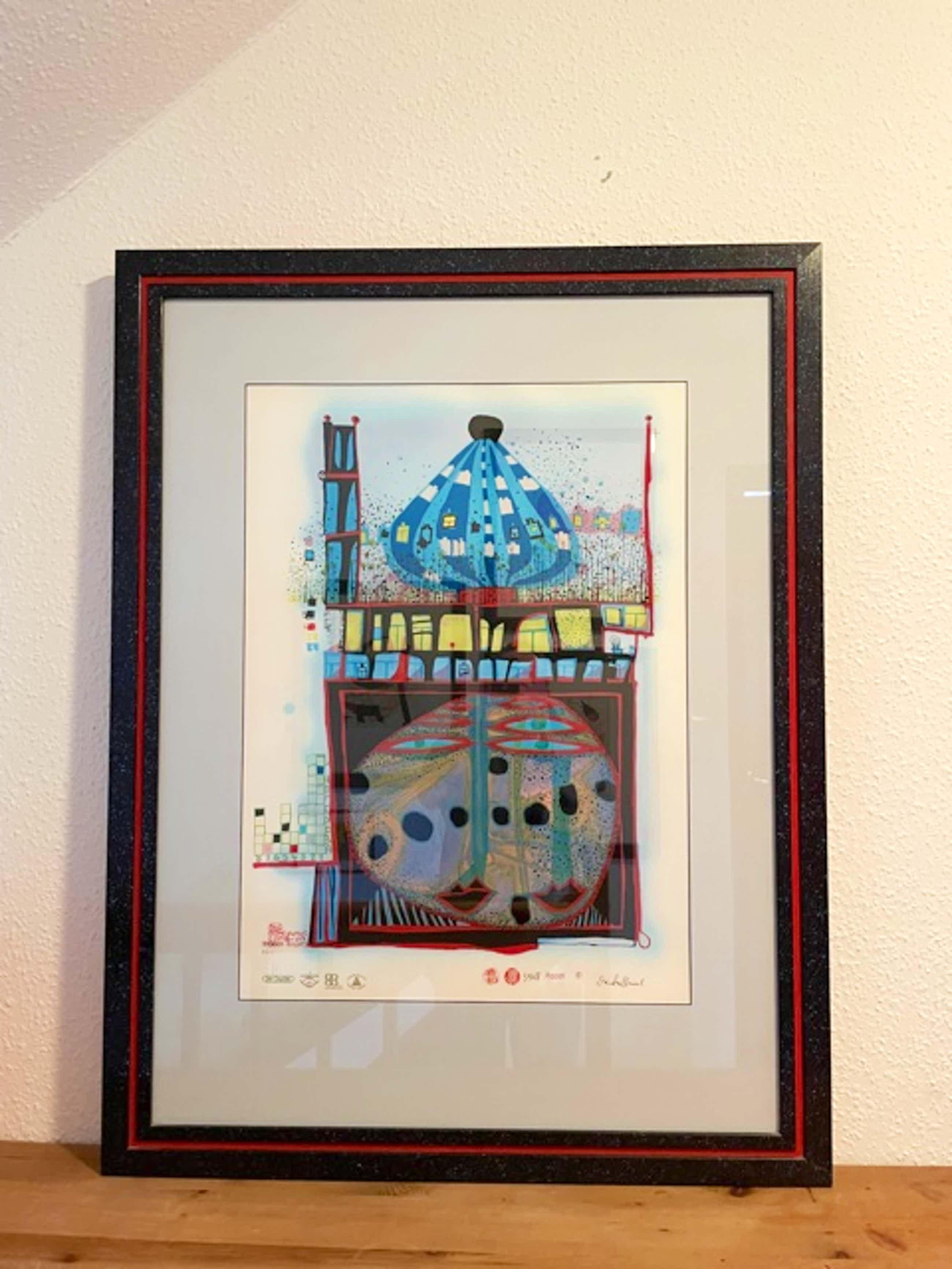 Fritz Hundertwasser - Homo humus come va 10001 nights kopen? Bied vanaf 4850!