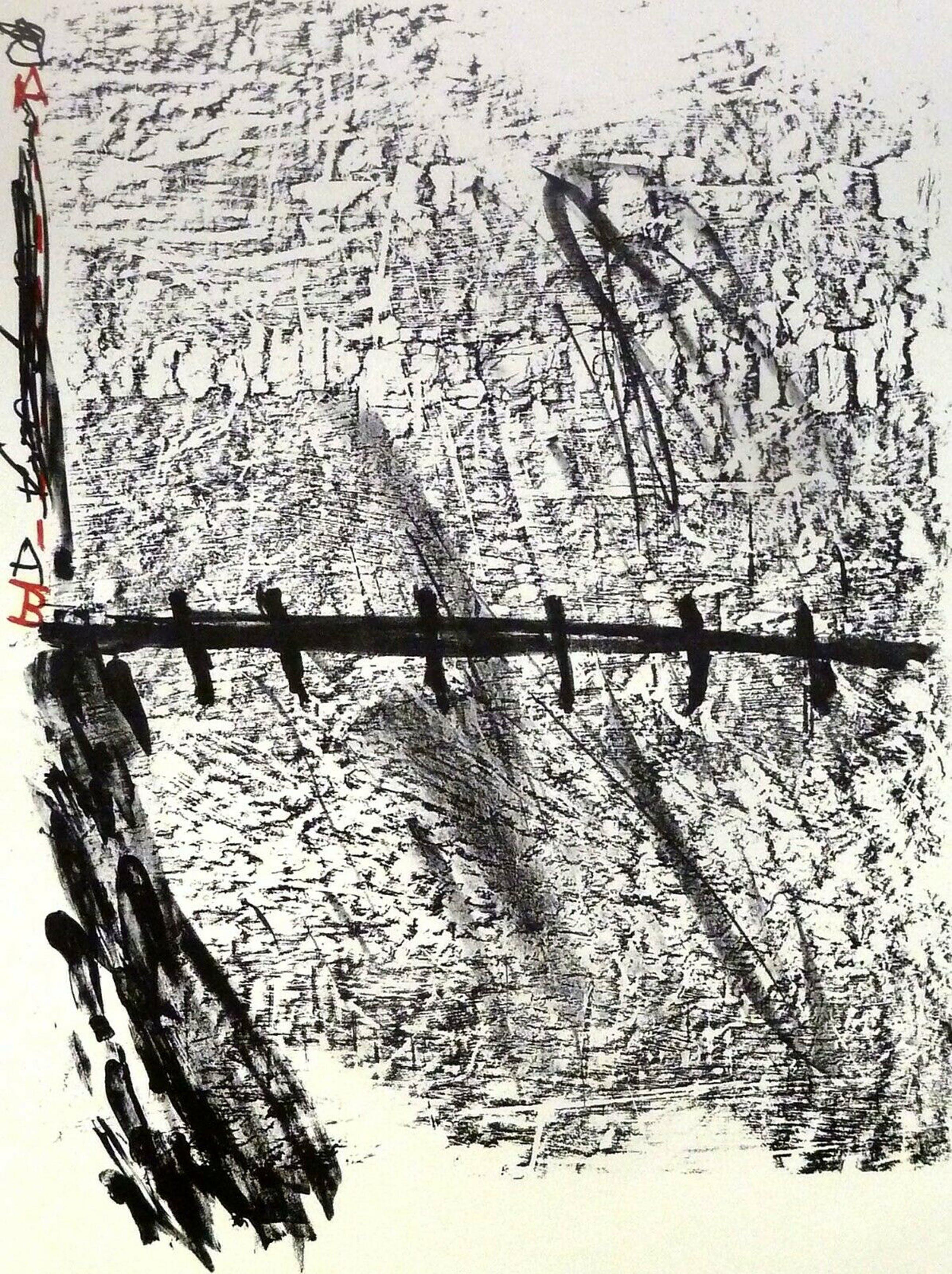 Antoni Tapies - La nuit grandissante , handsigniert -RAR- kopen? Bied vanaf 200!
