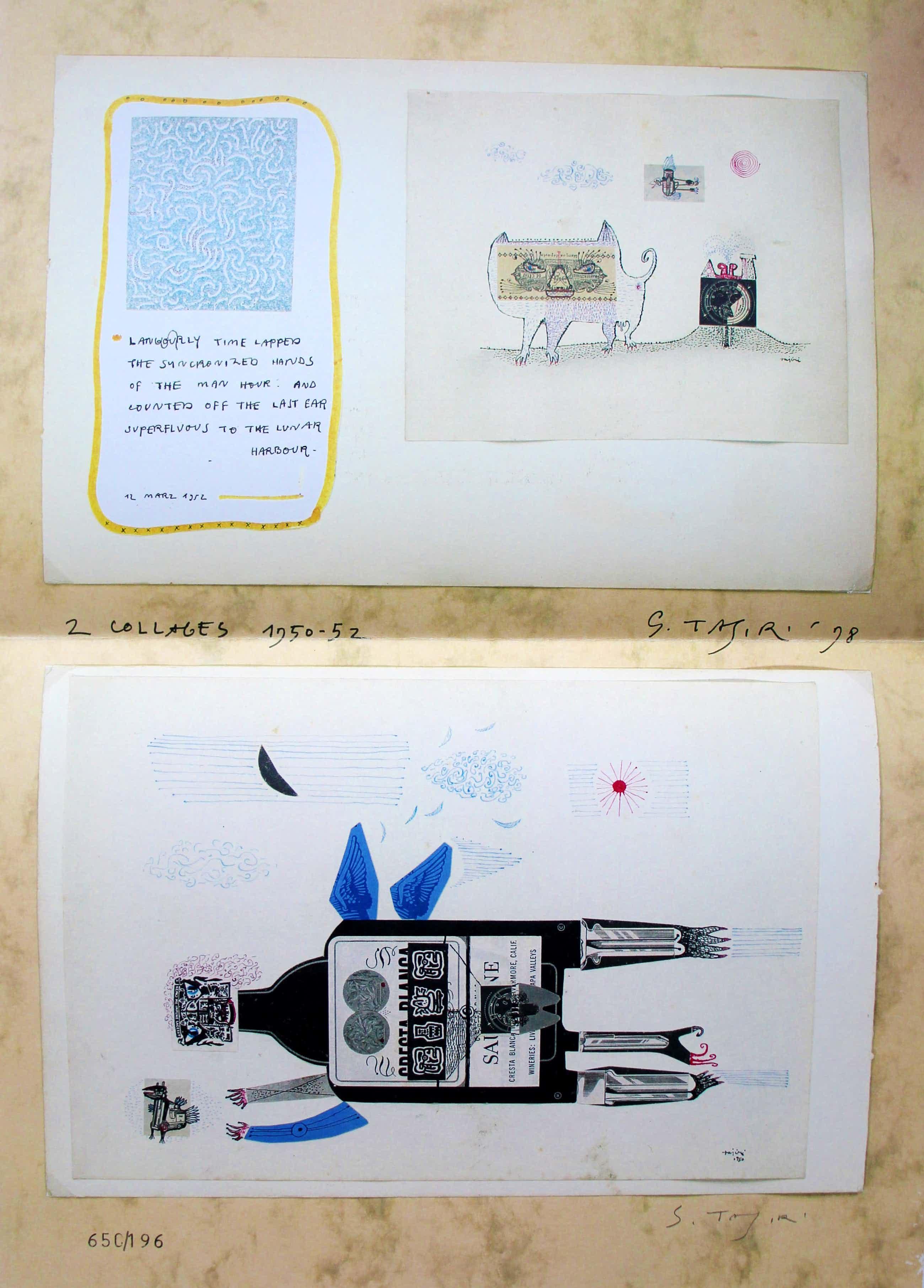 Shinkichi Tajiri - offset print: jaarprent bonnefantenmuseum - 1989 kopen? Bied vanaf 75!