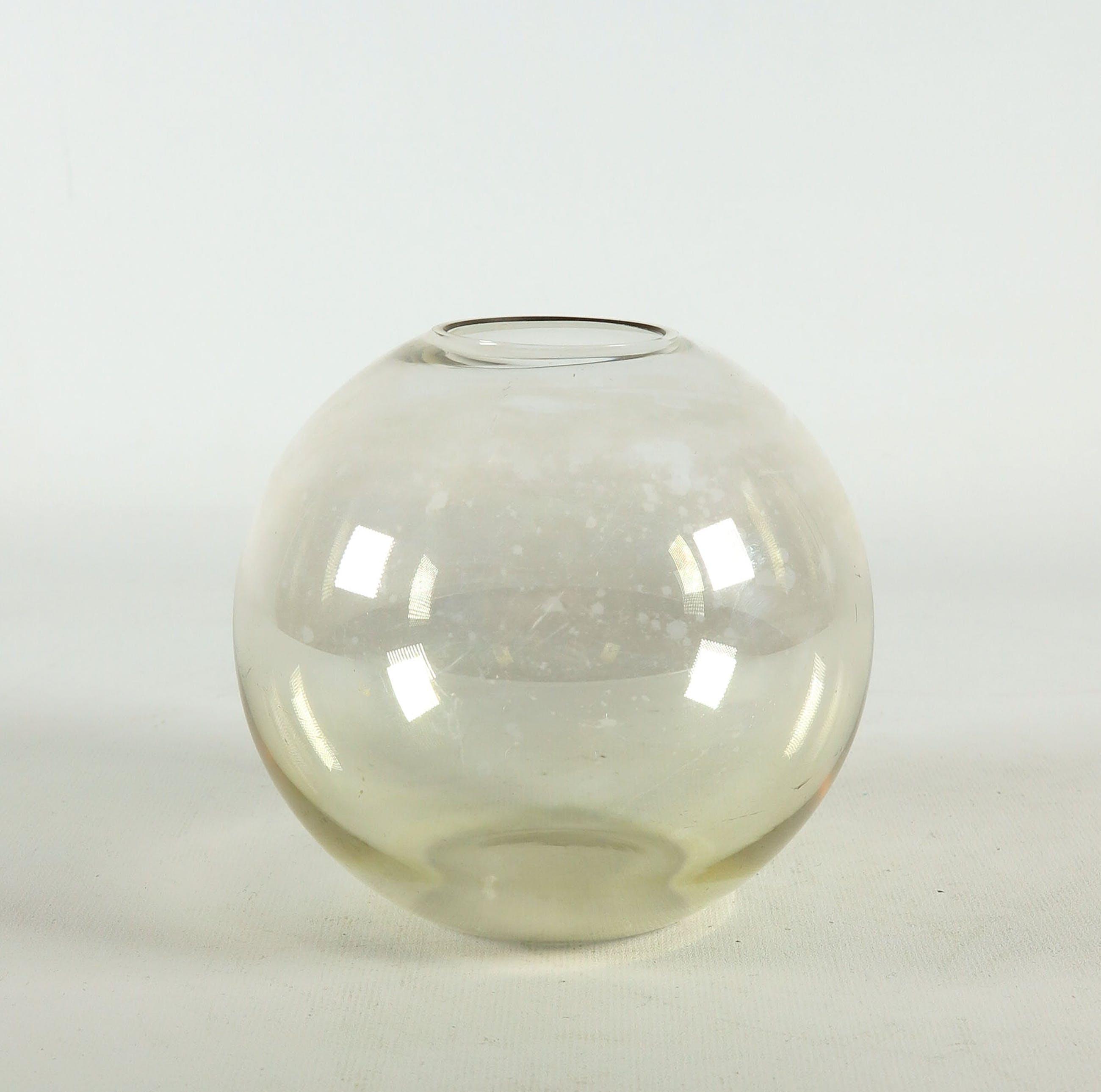 Andries Dirk Copier - Glas, Bolvaas met lusterglazuur door Glasfabriek Leerdam kopen? Bied vanaf 20!