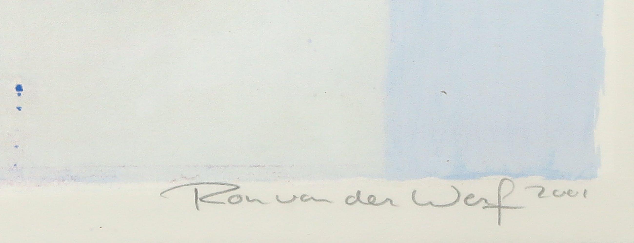 Ron van der Werf - Zeefdruk, Etude II - Ingelijst (Groot) kopen? Bied vanaf 35!