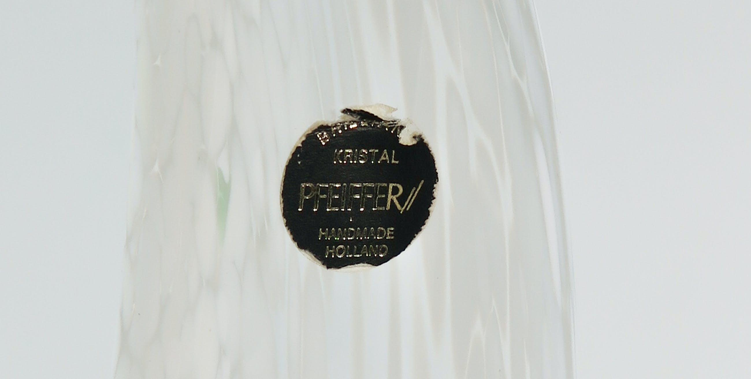 Pfeiffer - Kristallen siervaas kopen? Bied vanaf 60!