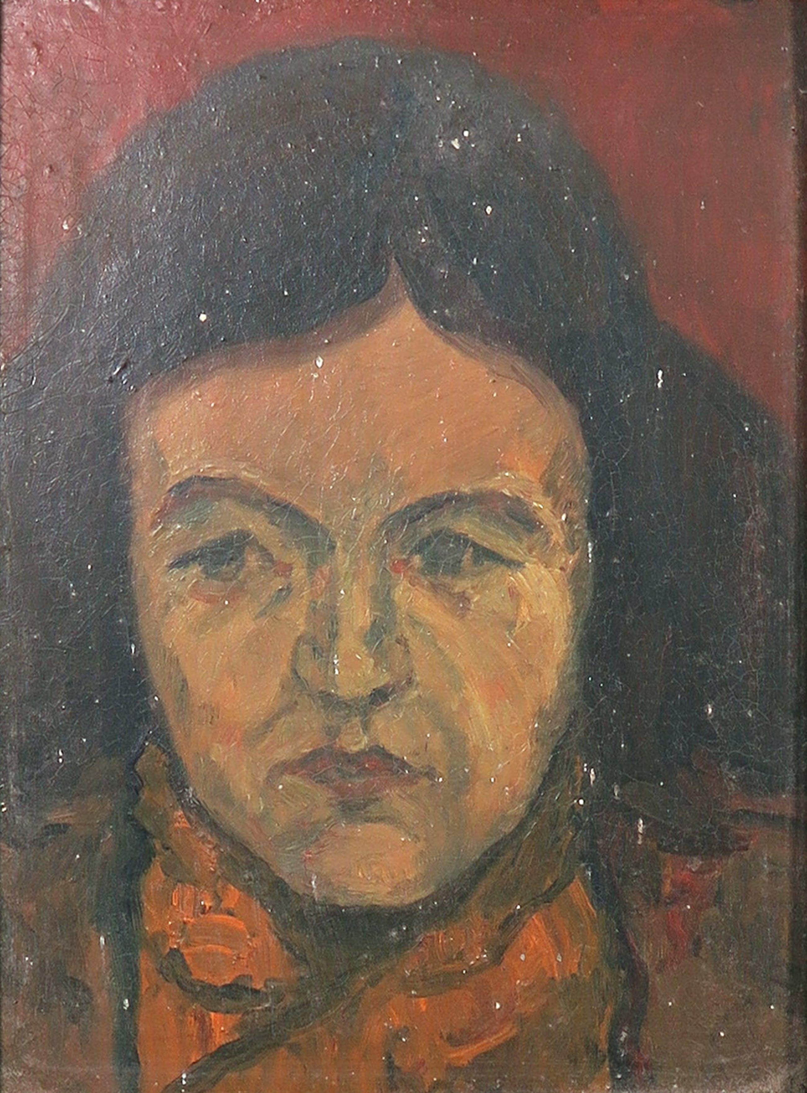 Pieter Haan - Lot van drie originele werken, Gezichten - Ingelijst kopen? Bied vanaf 1!