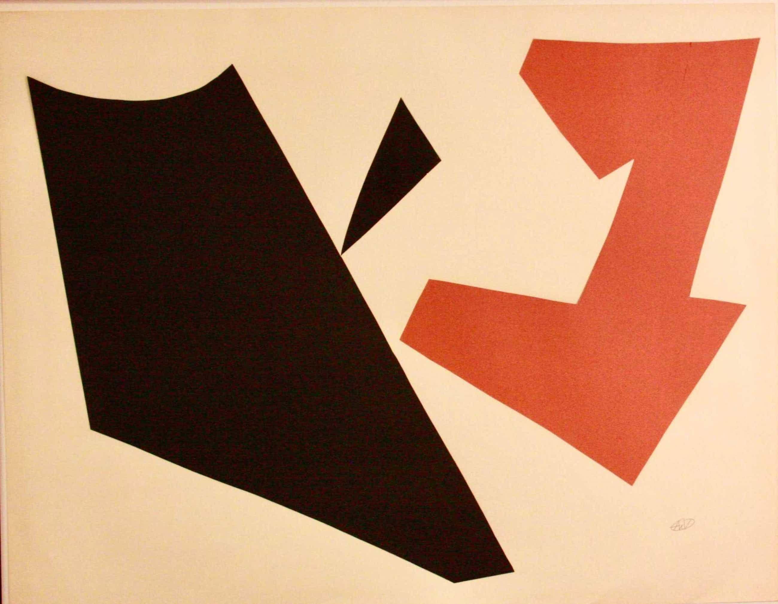 Andre van der Vossen - abstract kopen? Bied vanaf 600!