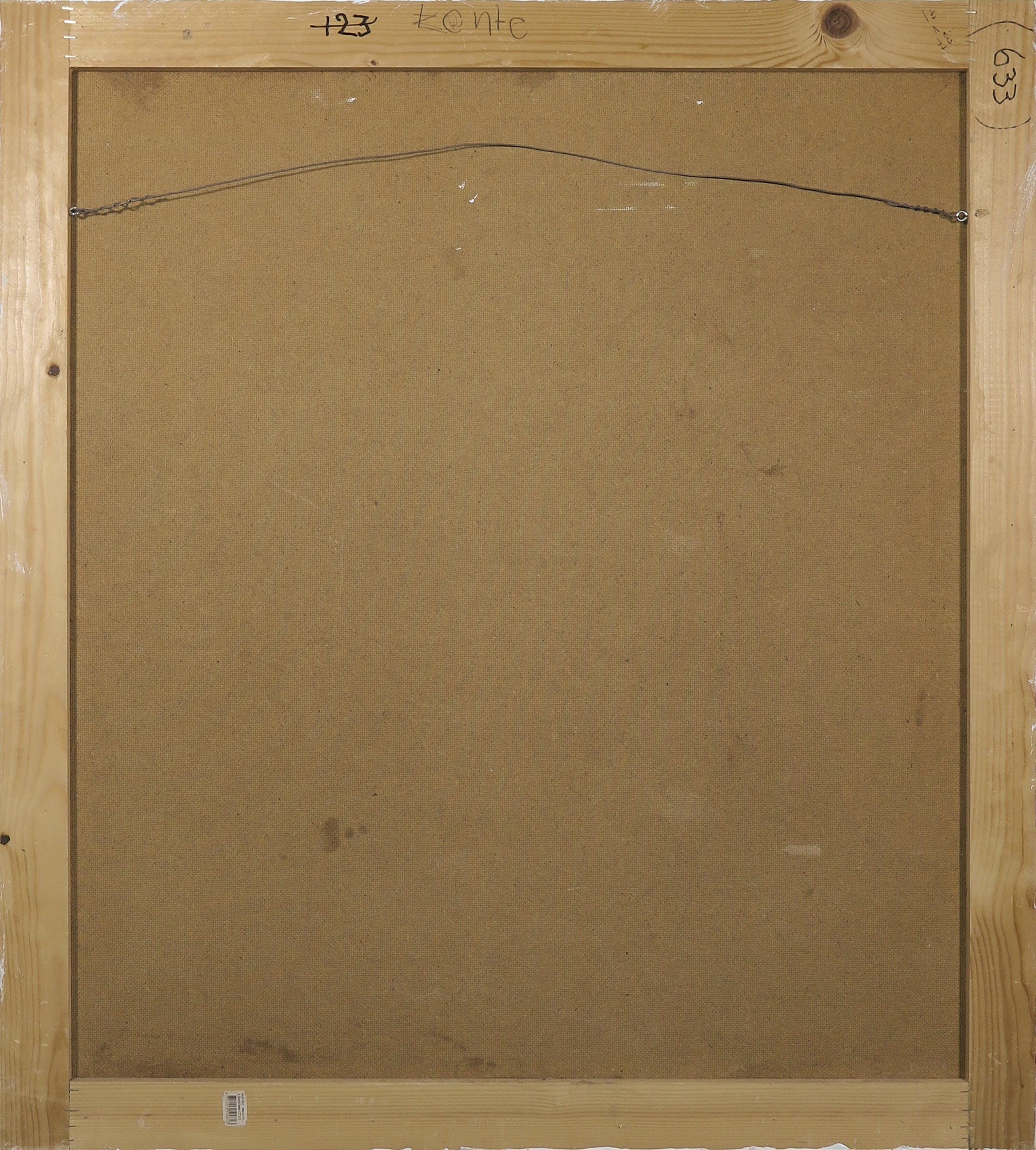 Paul Overhaus - Acryl op doek (op paneel), Lente kopen? Bied vanaf 70!
