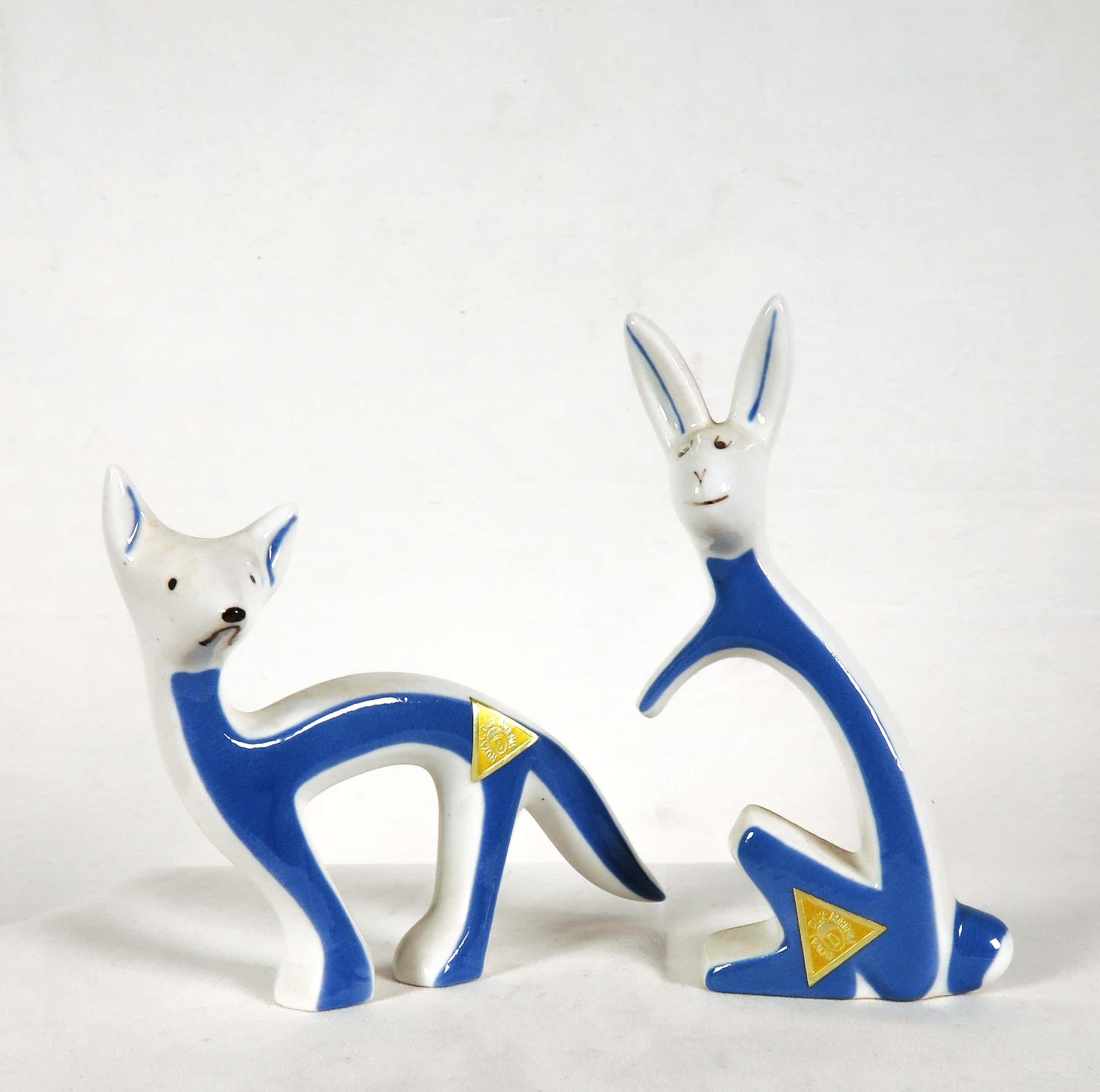 Royal Dux - 2 dekorative Tierfiguren kopen? Bied vanaf 20!
