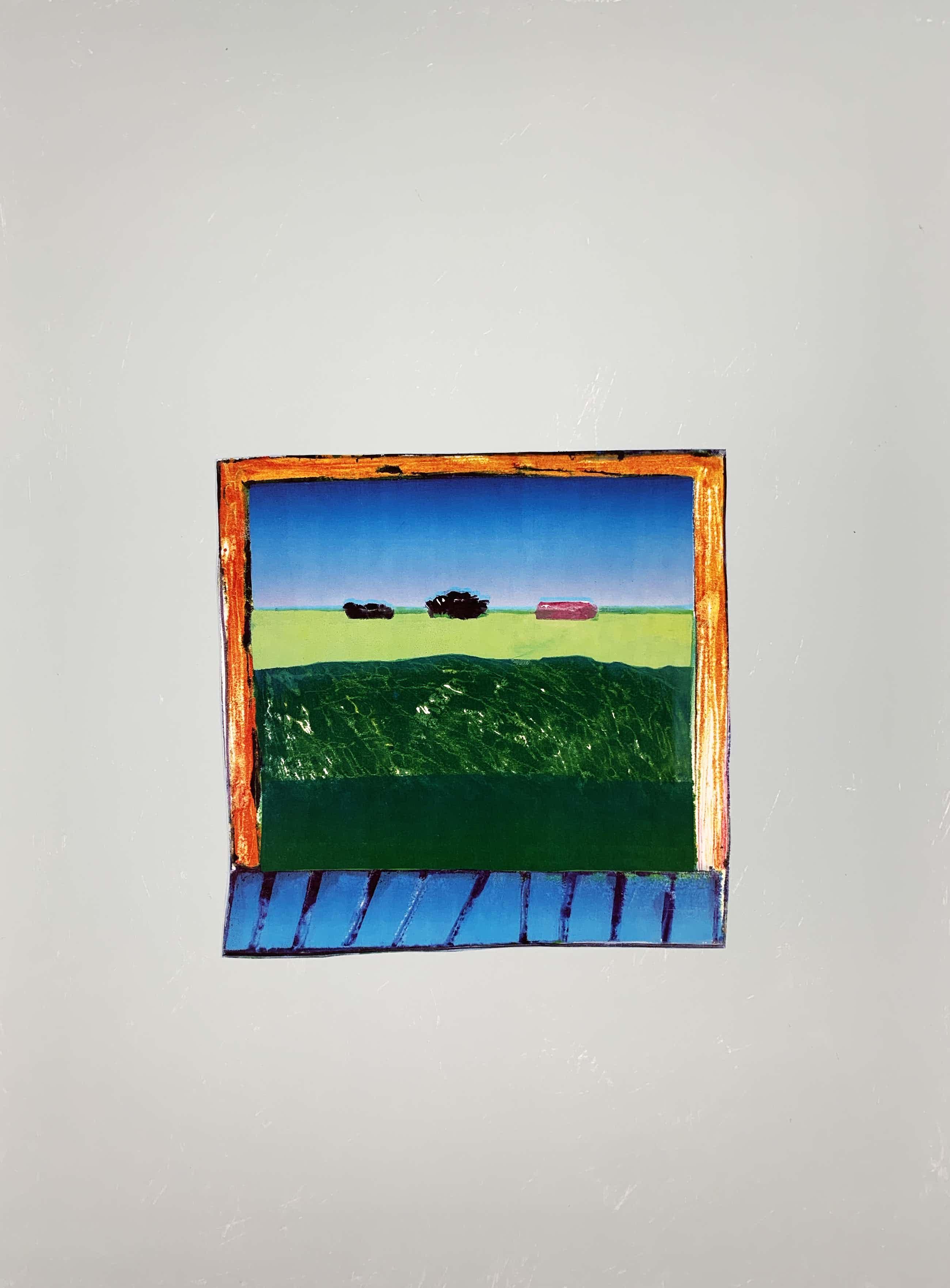 Harrie Gerritz - kleurenzeefdruk - 'Klein venster' - 1982 kopen? Bied vanaf 80!