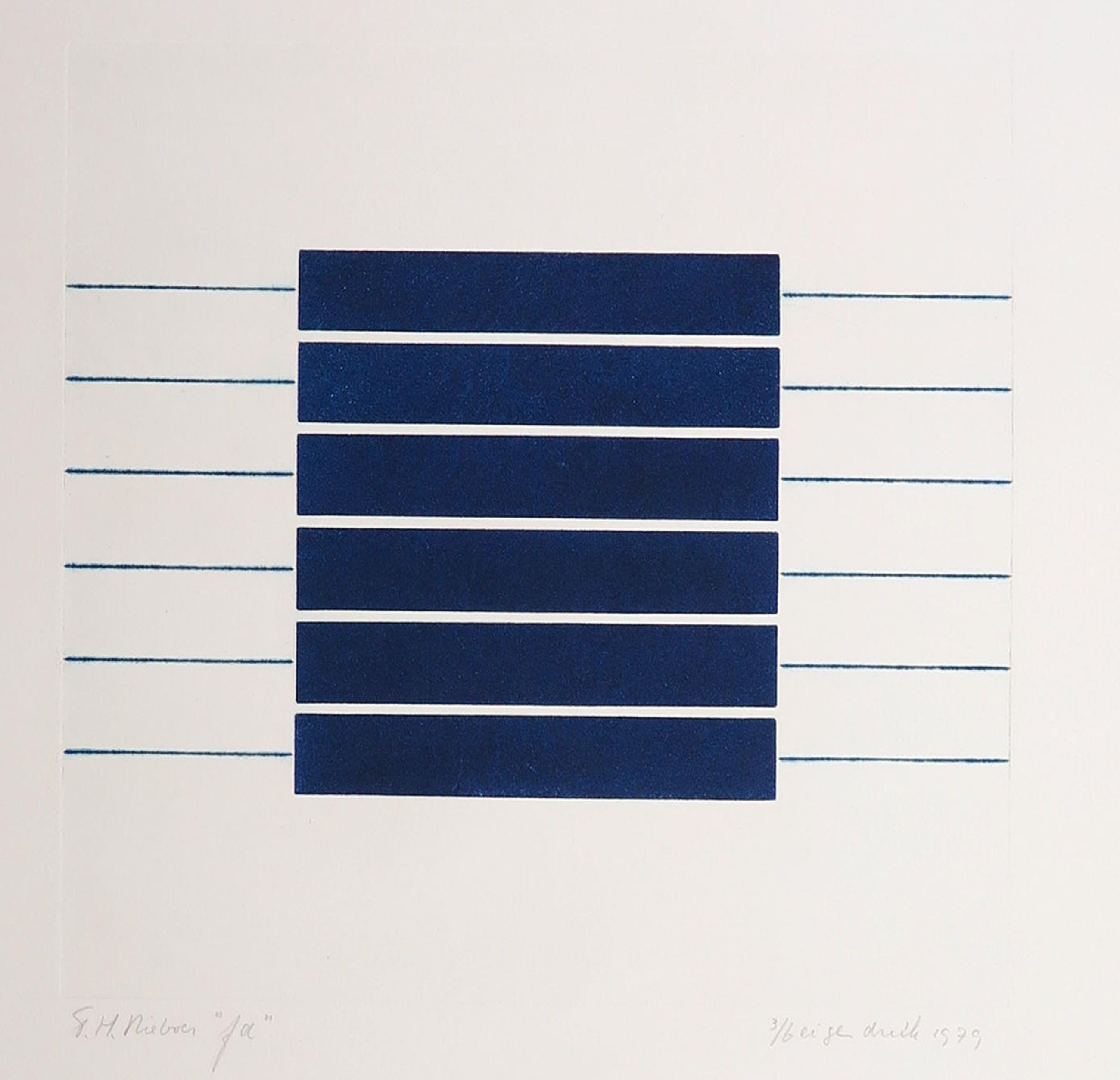 Tiddo Nieboer - Kleurenets, Geometrische compositie kopen? Bied vanaf 50!