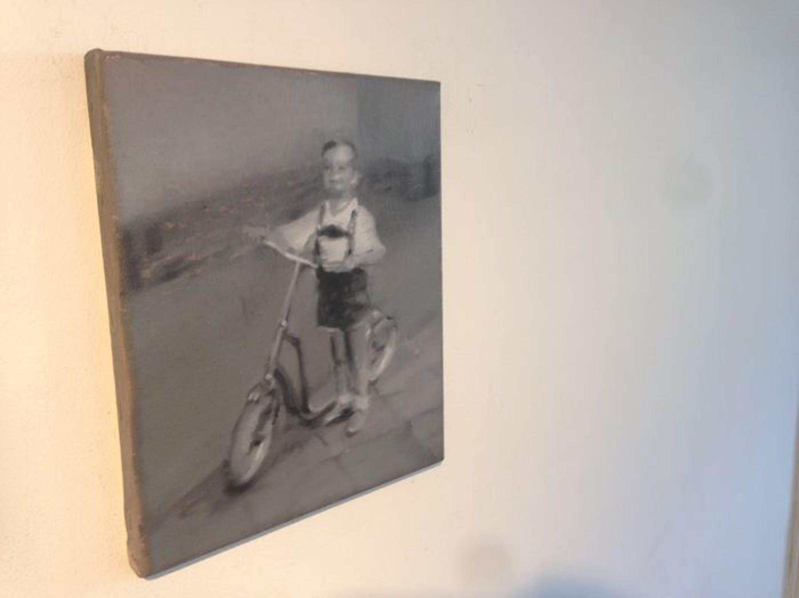 Erwin van Krey - Boy on an autoped kopen? Bied vanaf 150!