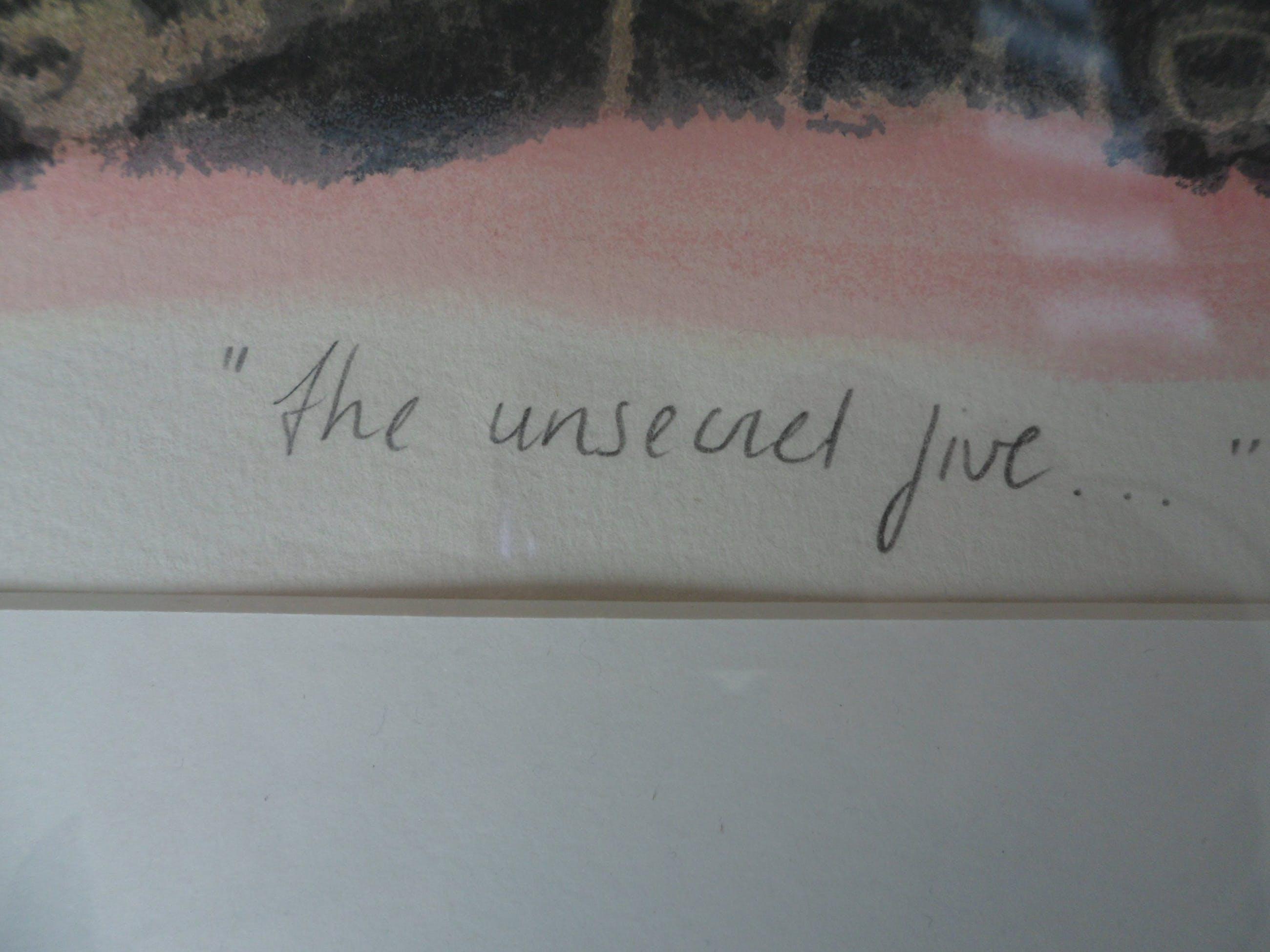 Hans Innemee - Zeefdruk op papier, The unsecret five - Ingelijst (groot) kopen? Bied vanaf 250!