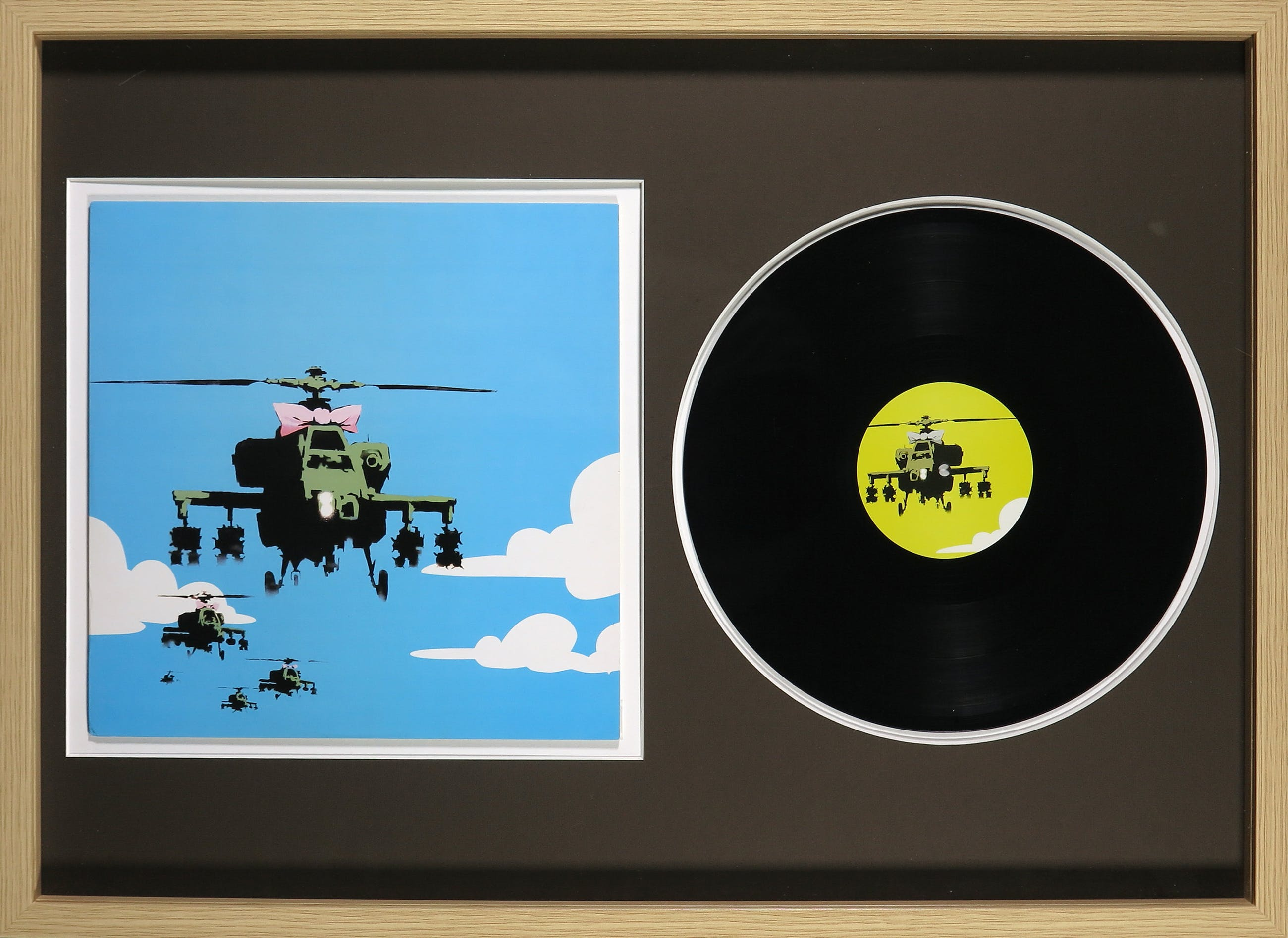 Banksy - Dirty Funker - Flat Beat - Ingelijst kopen? Bied vanaf 1!